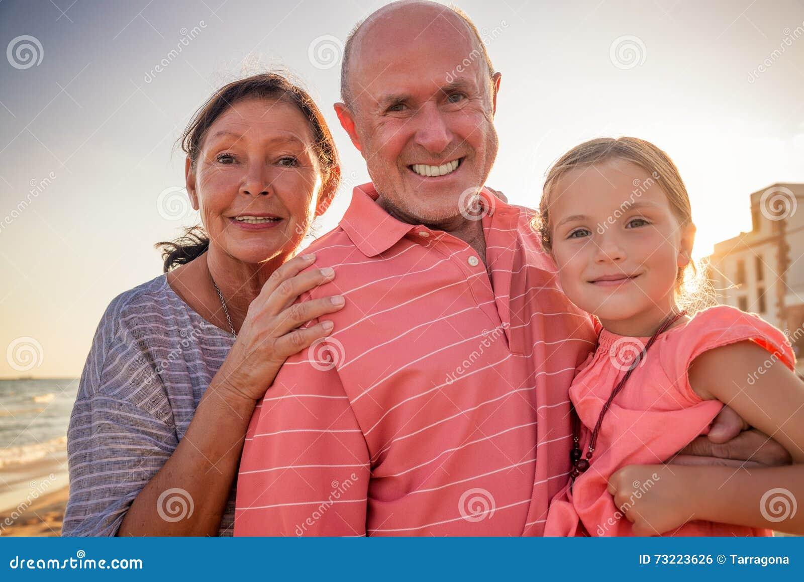 Vacances d été de grands-parents