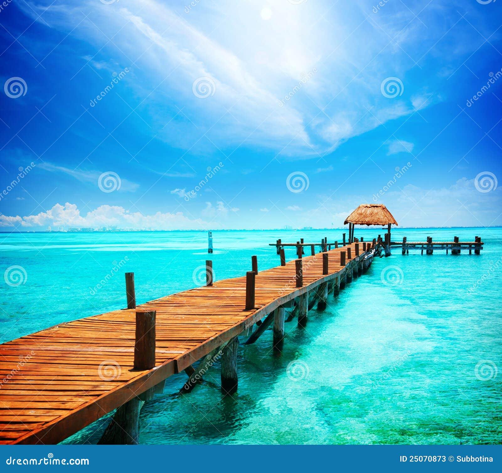 Vacances dans le paradis tropical