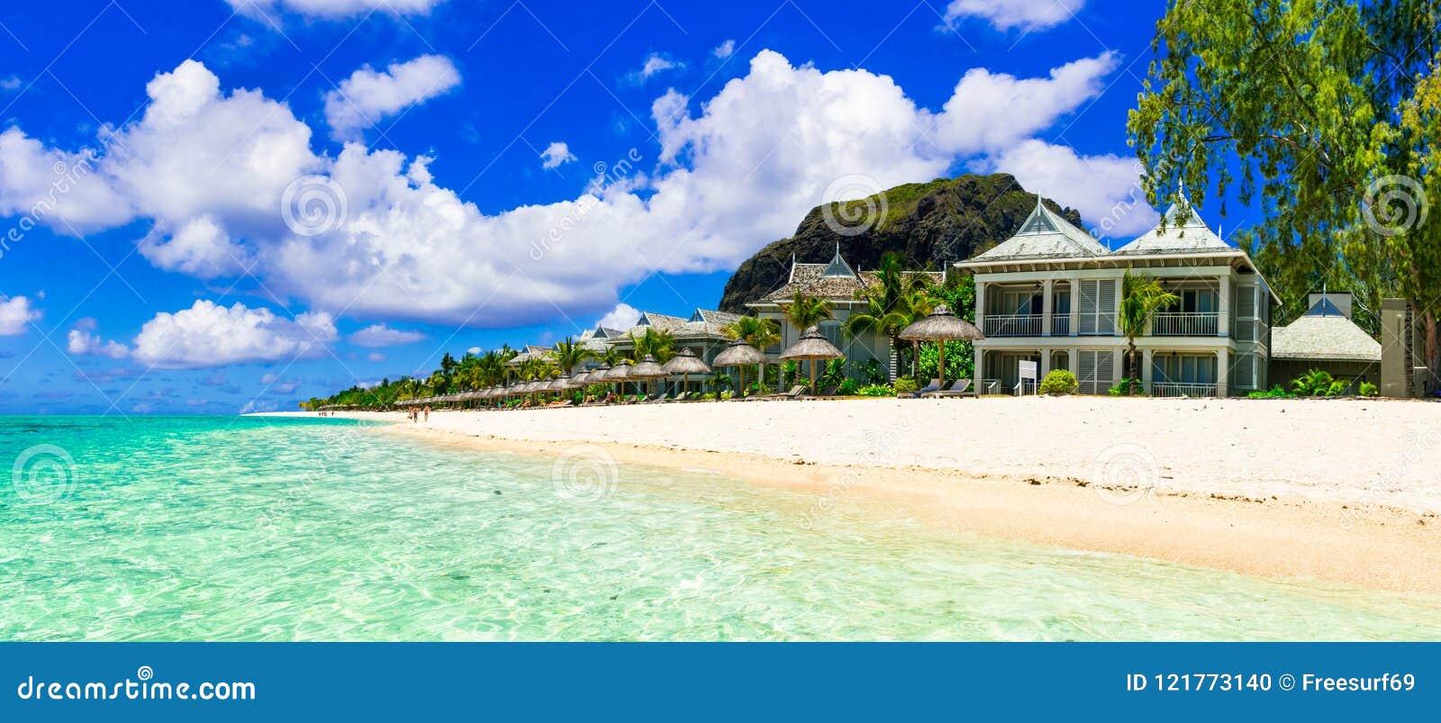 Vacances de luxe dans la station de vacances tropicale Île des Îles Maurice
