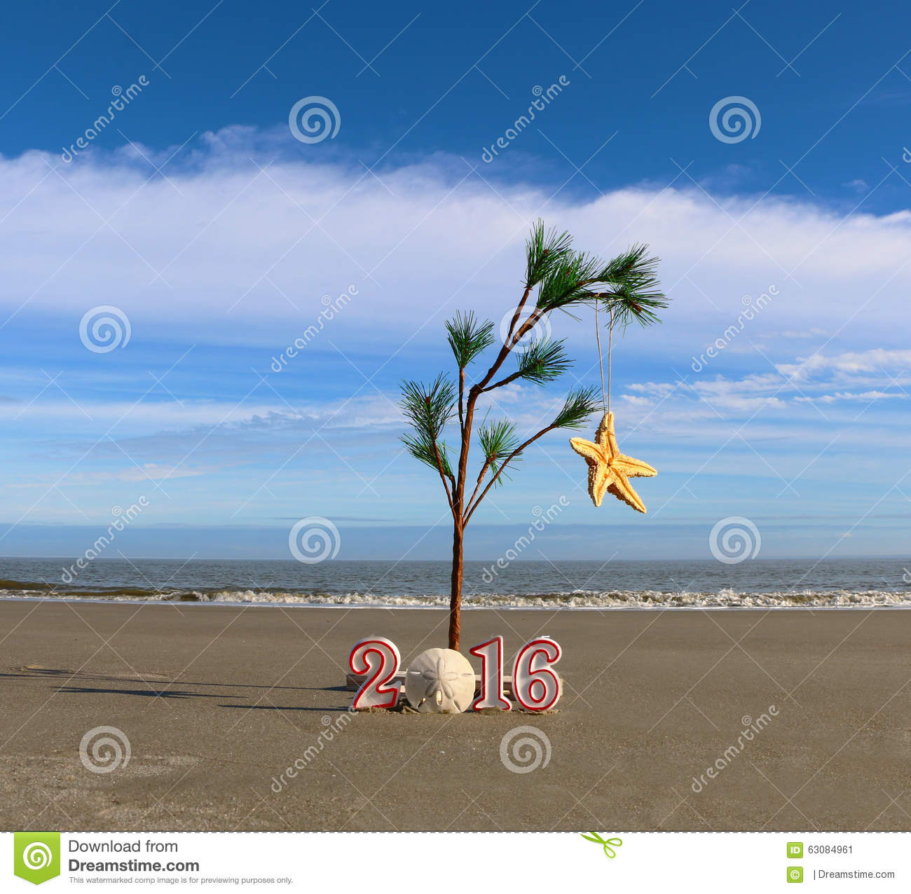 Download Vacances tropicales image stock. Image du océan, noël - 63084961