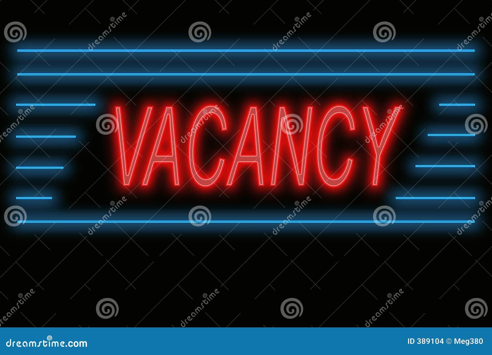 Vacancy No Vacancy Sign C 1960 Omero Home
