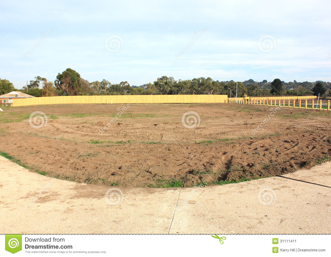 Vacant land stock image image 31111411 for Build house on your land