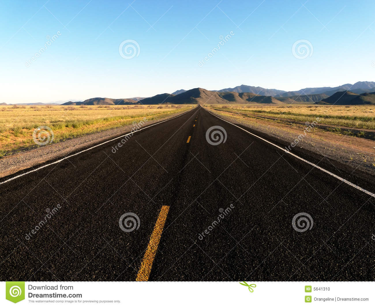 Vacant Road - Horizontal stock photo. Image of chilling ...
