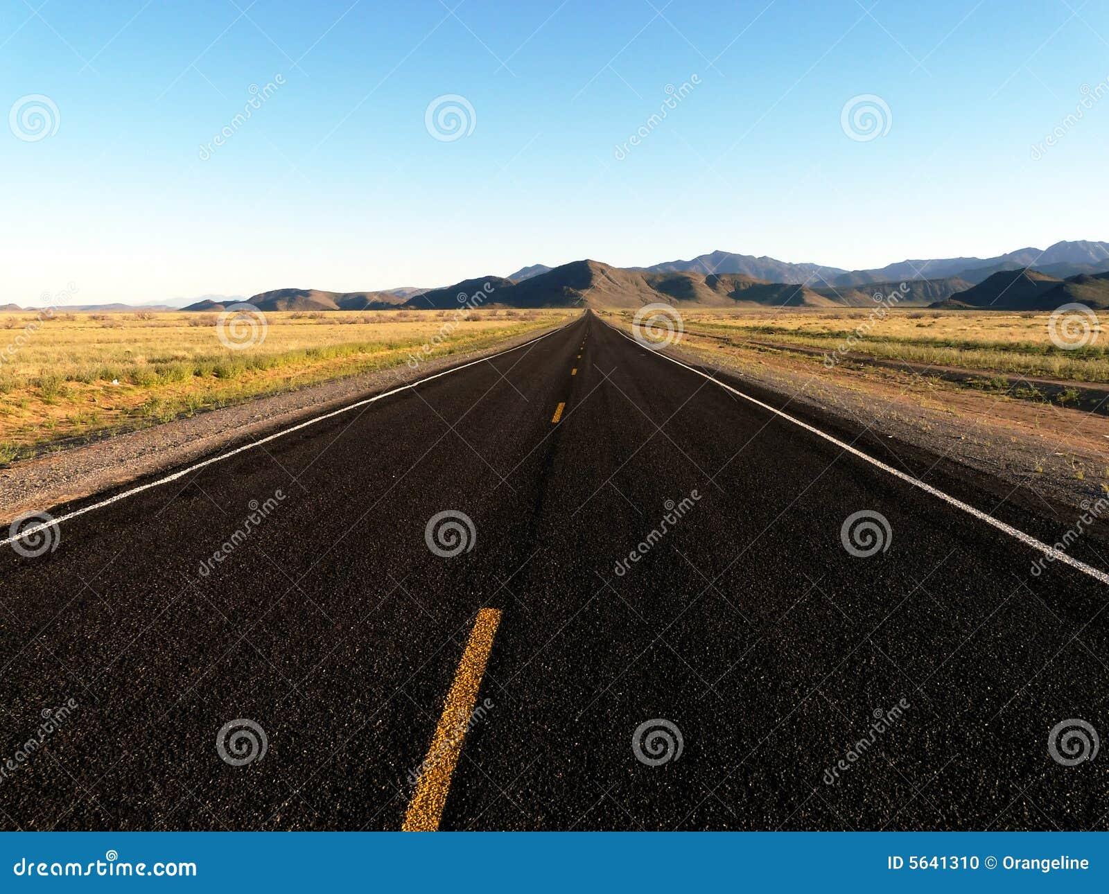 Vacant Road - Horizontal Stock Photo - Image: 5641310