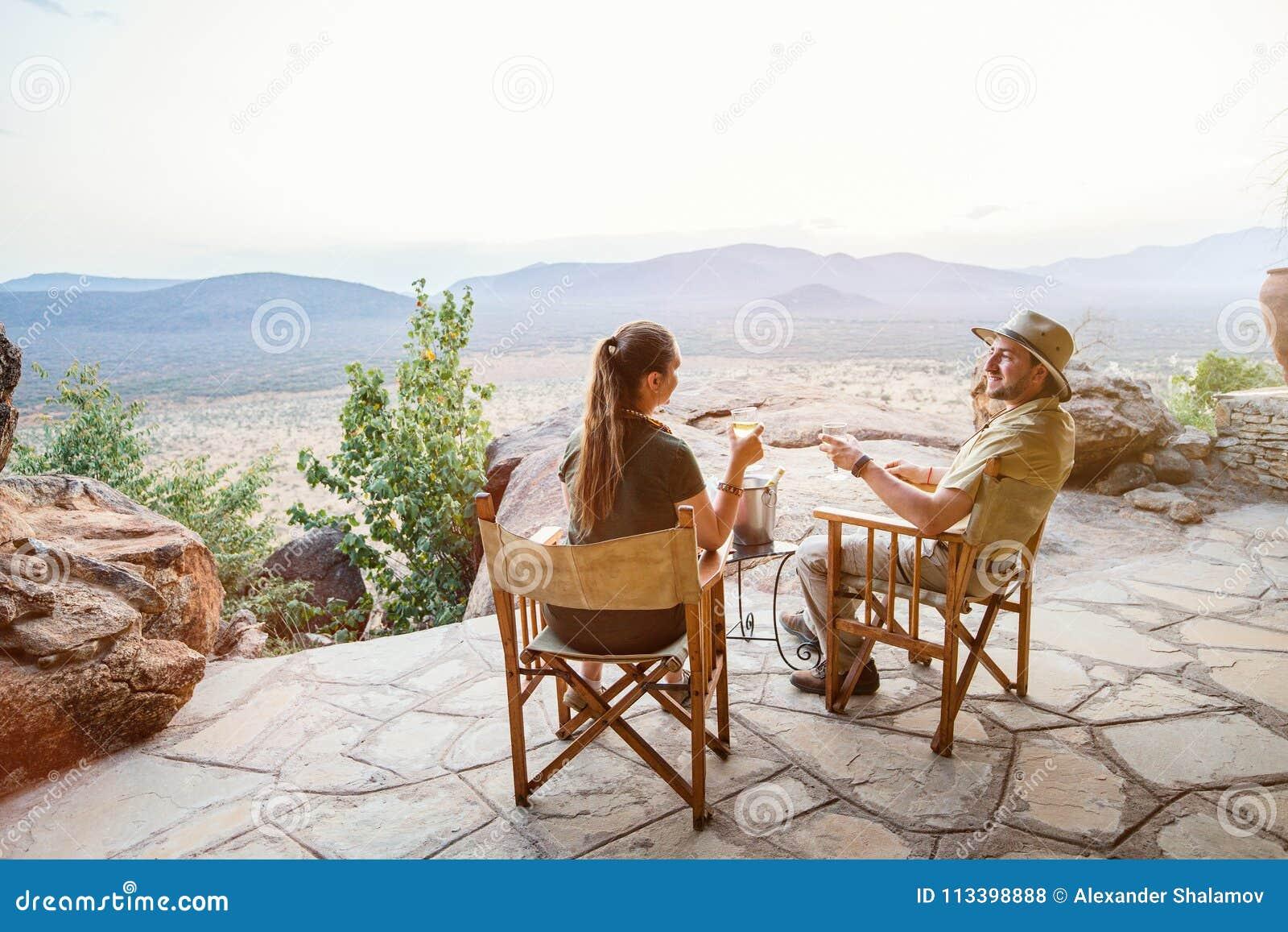 Vacanza di lusso di safari