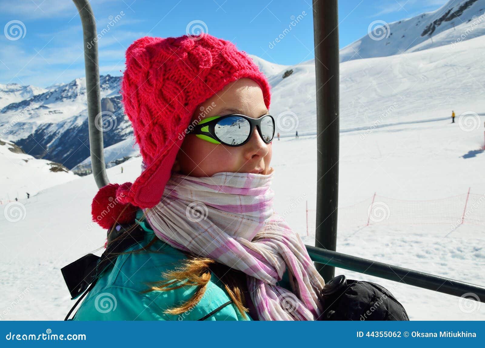 Vacanze nelle montagne di inverno