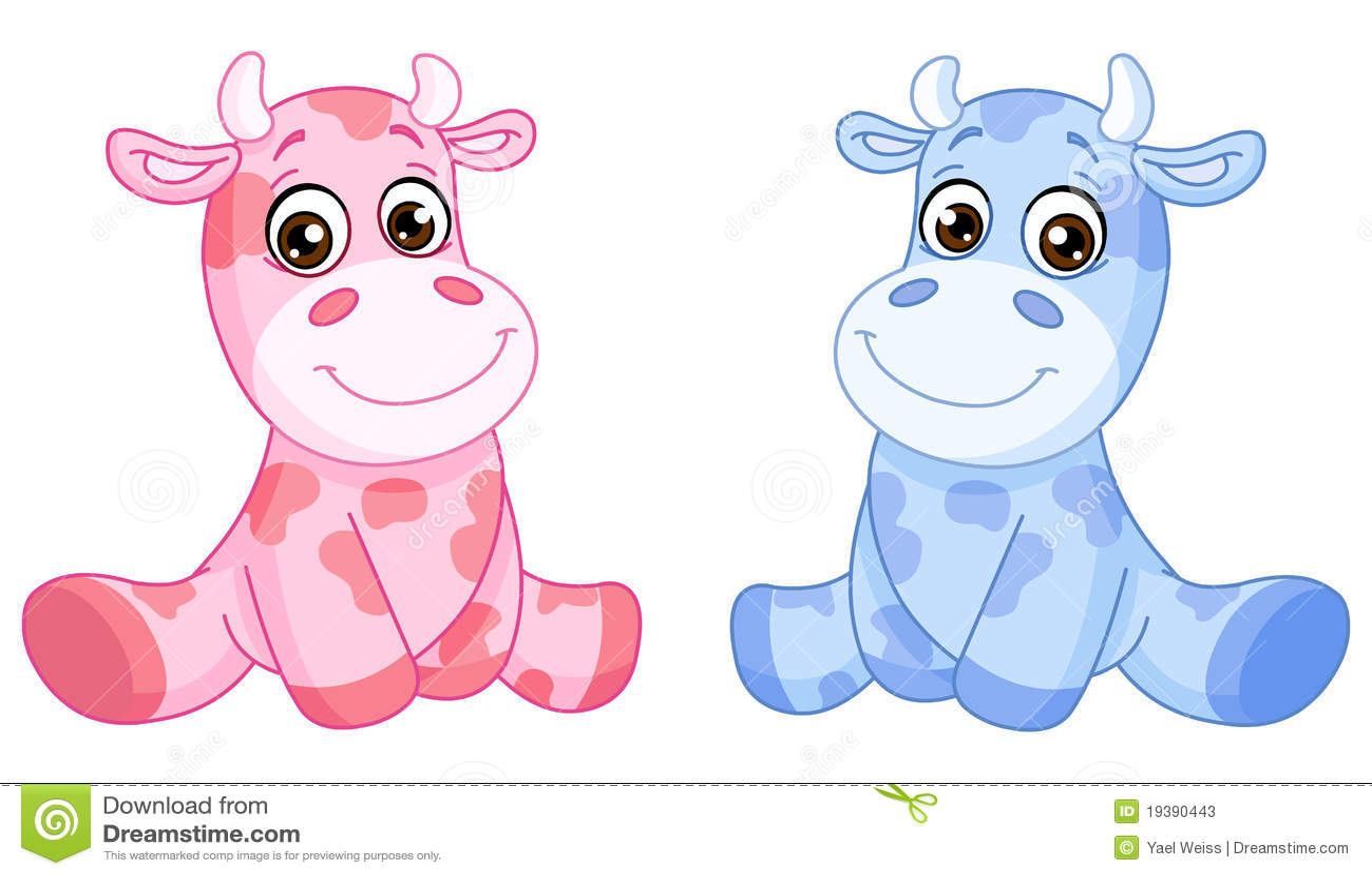 Vacas do bebê