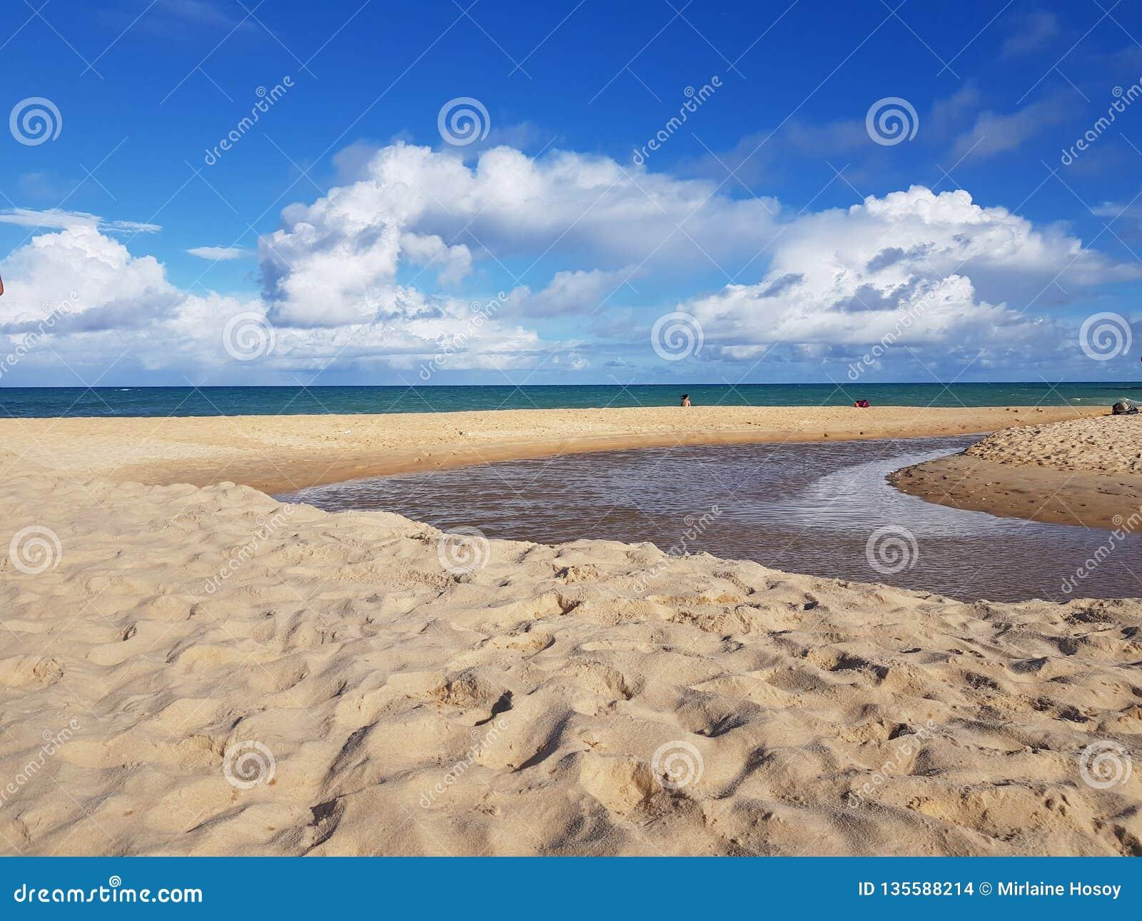 Beach Arraial D& x27;ajuda- Bahia/Brasil