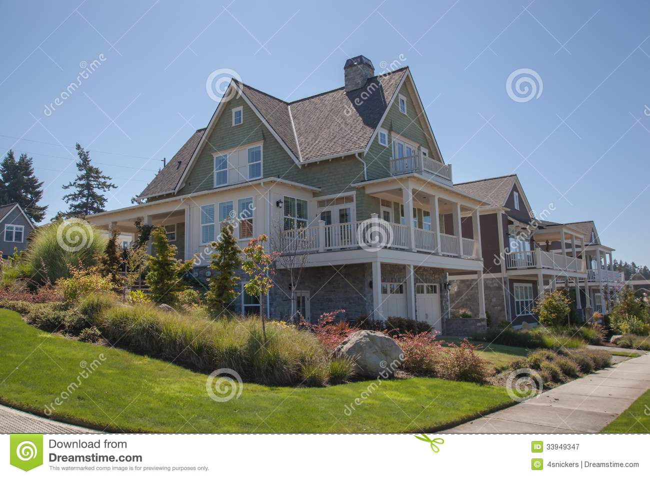Vacation homes royalty free stock photography image for Americana homes