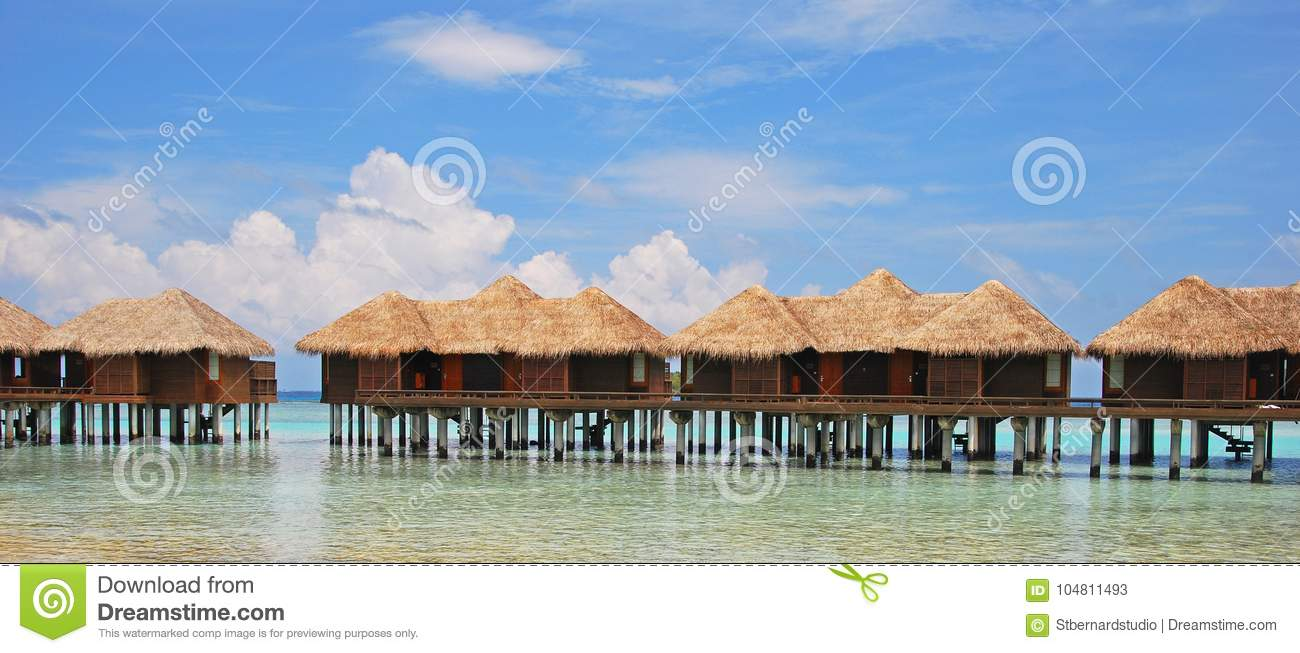 Vacation of a Life Time on Overwater Bungalow