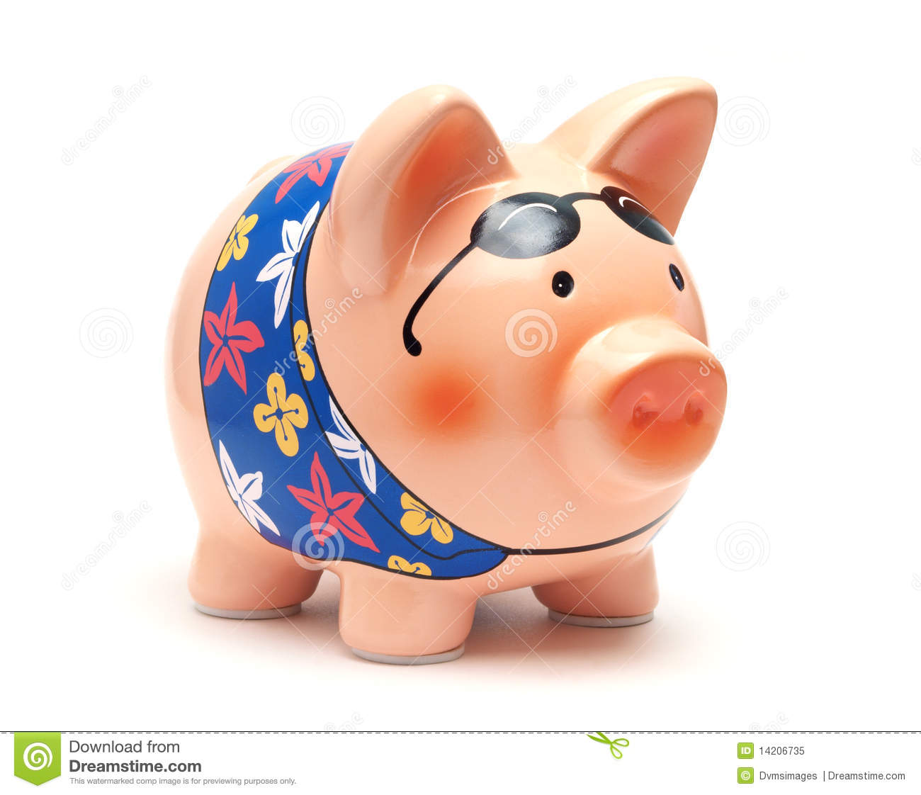 Vacation piggy bank royalty free stock photo image 14206735 for Travel fund piggy bank