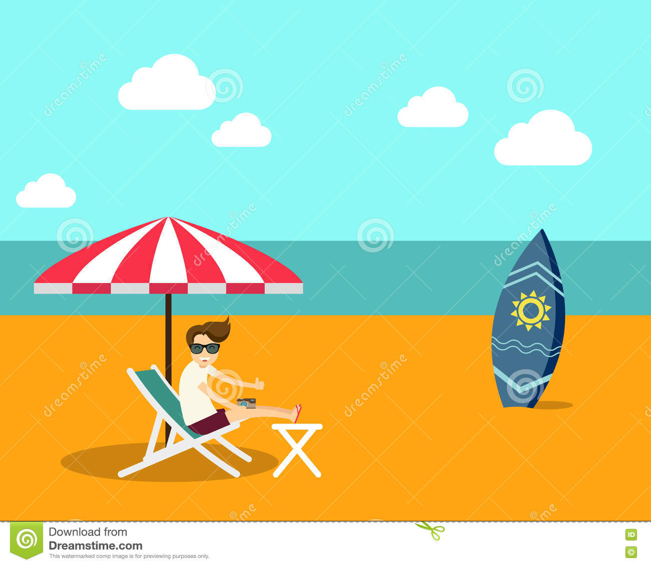 summer vector illustraitons - photo #47