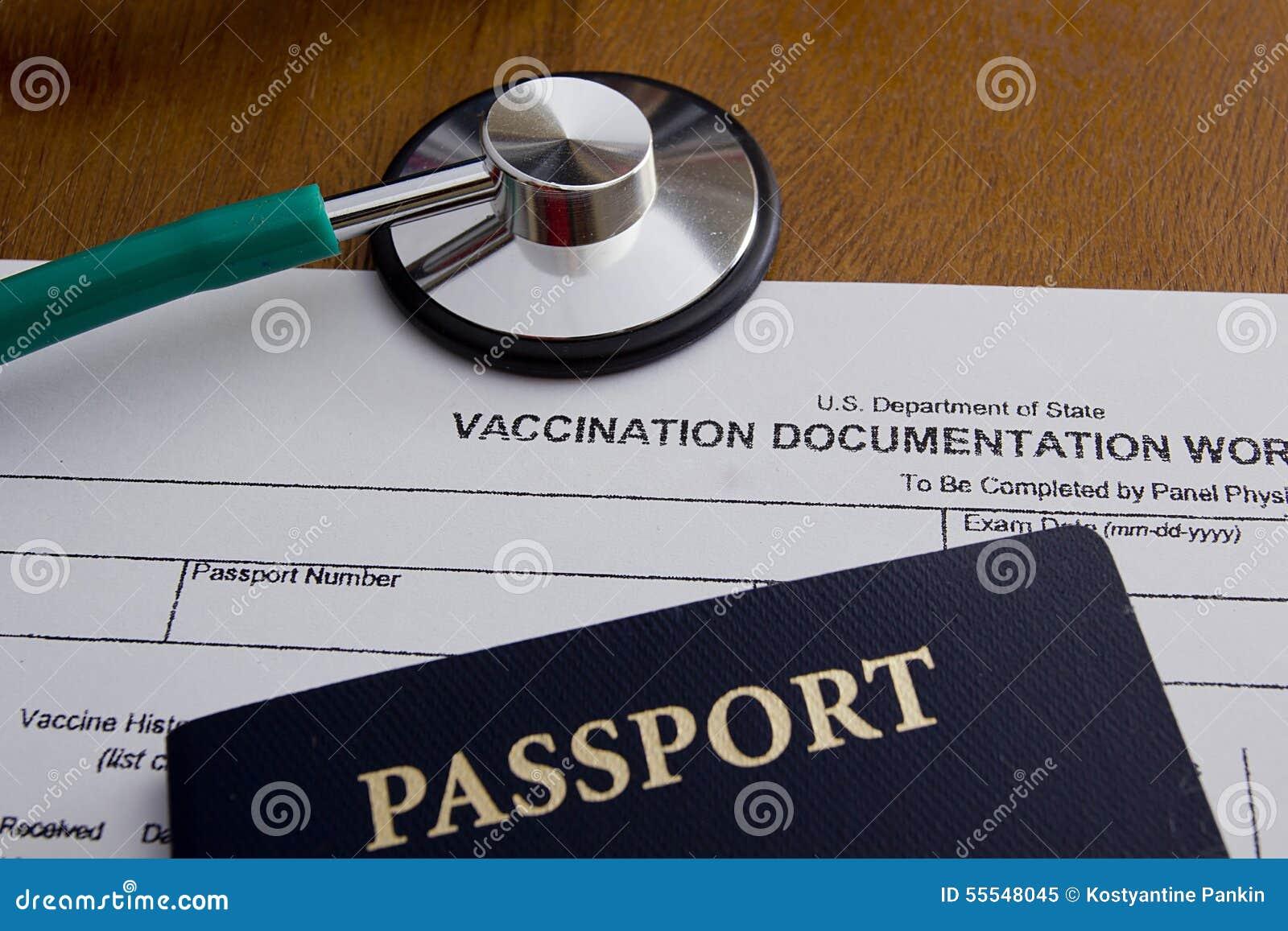 vaccination documentation worksheet stock photo image 55548045. Black Bedroom Furniture Sets. Home Design Ideas