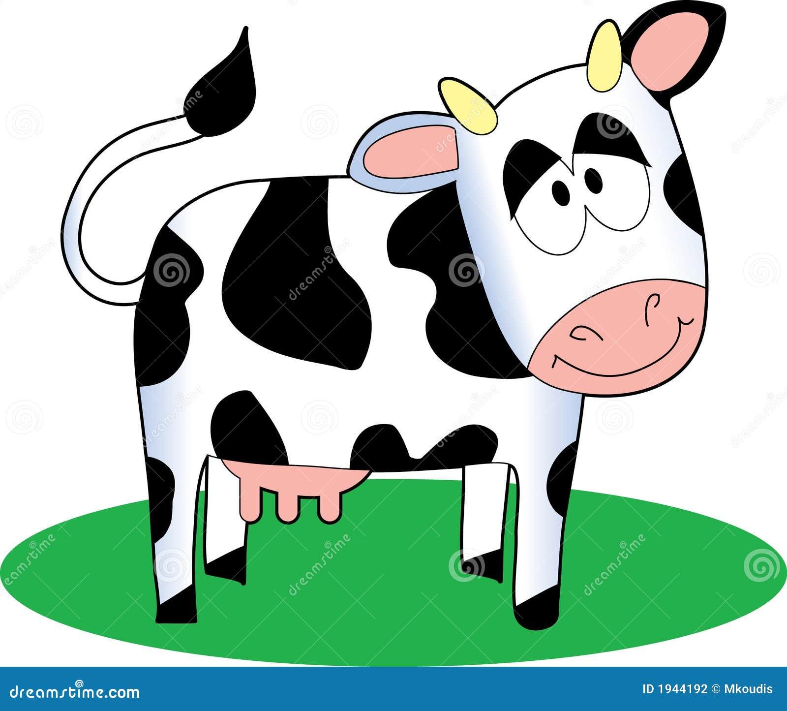 Vache à dessin animé photographie stock image