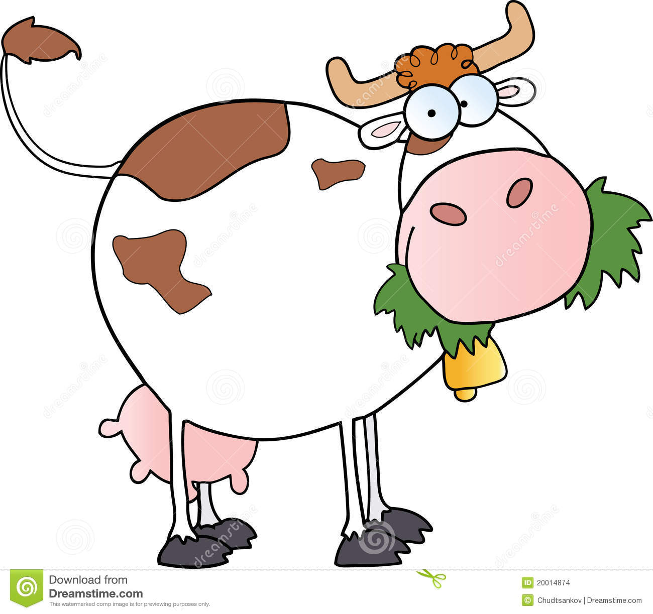 Vache laiti re de dessin anim illustration de vecteur - Vache en dessin ...