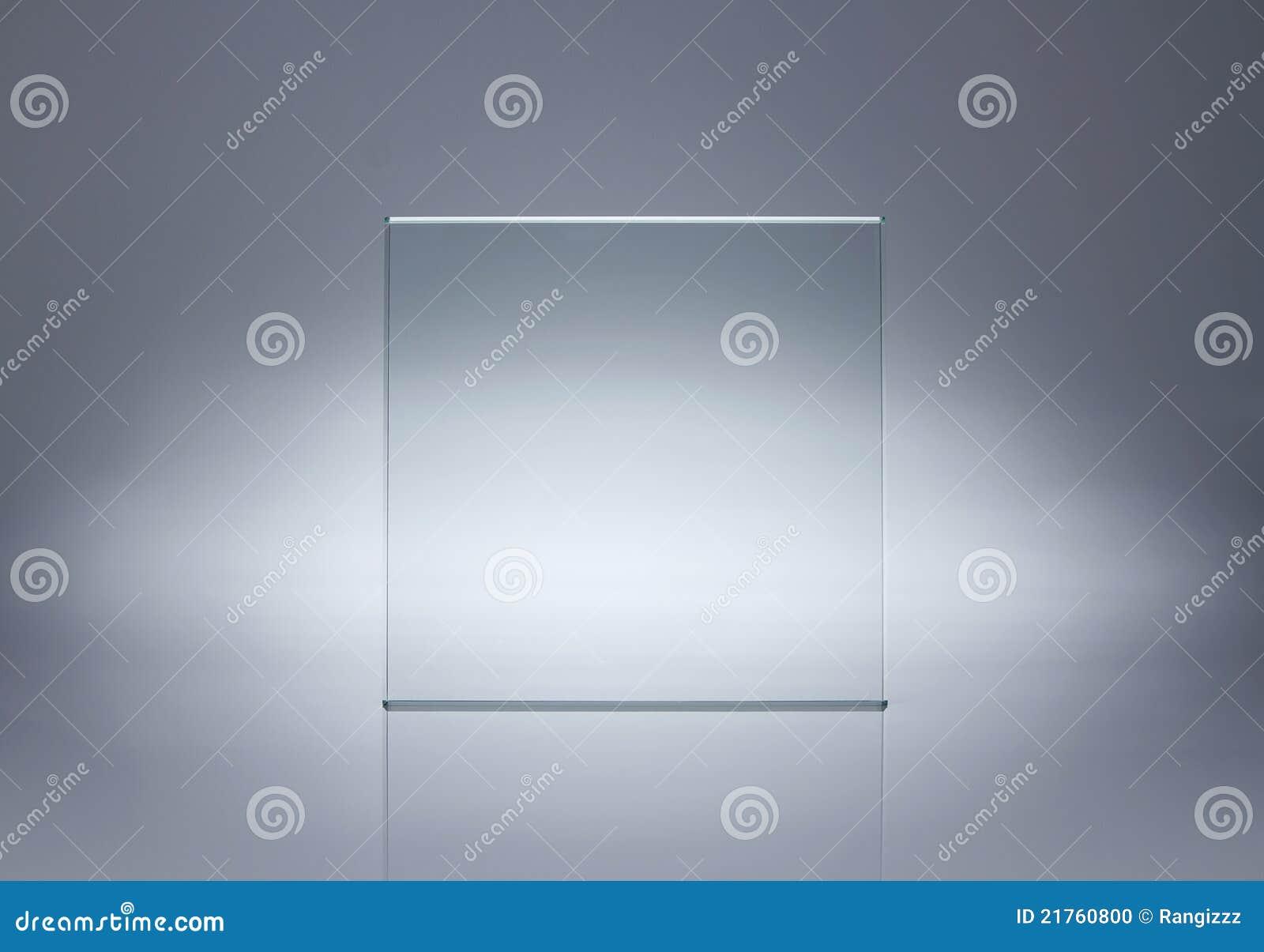 Vacie la placa de cristal