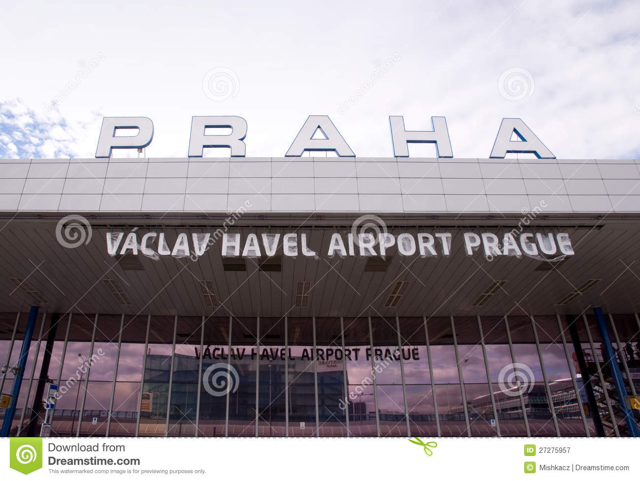 Vaclav Havel flygplats Prague