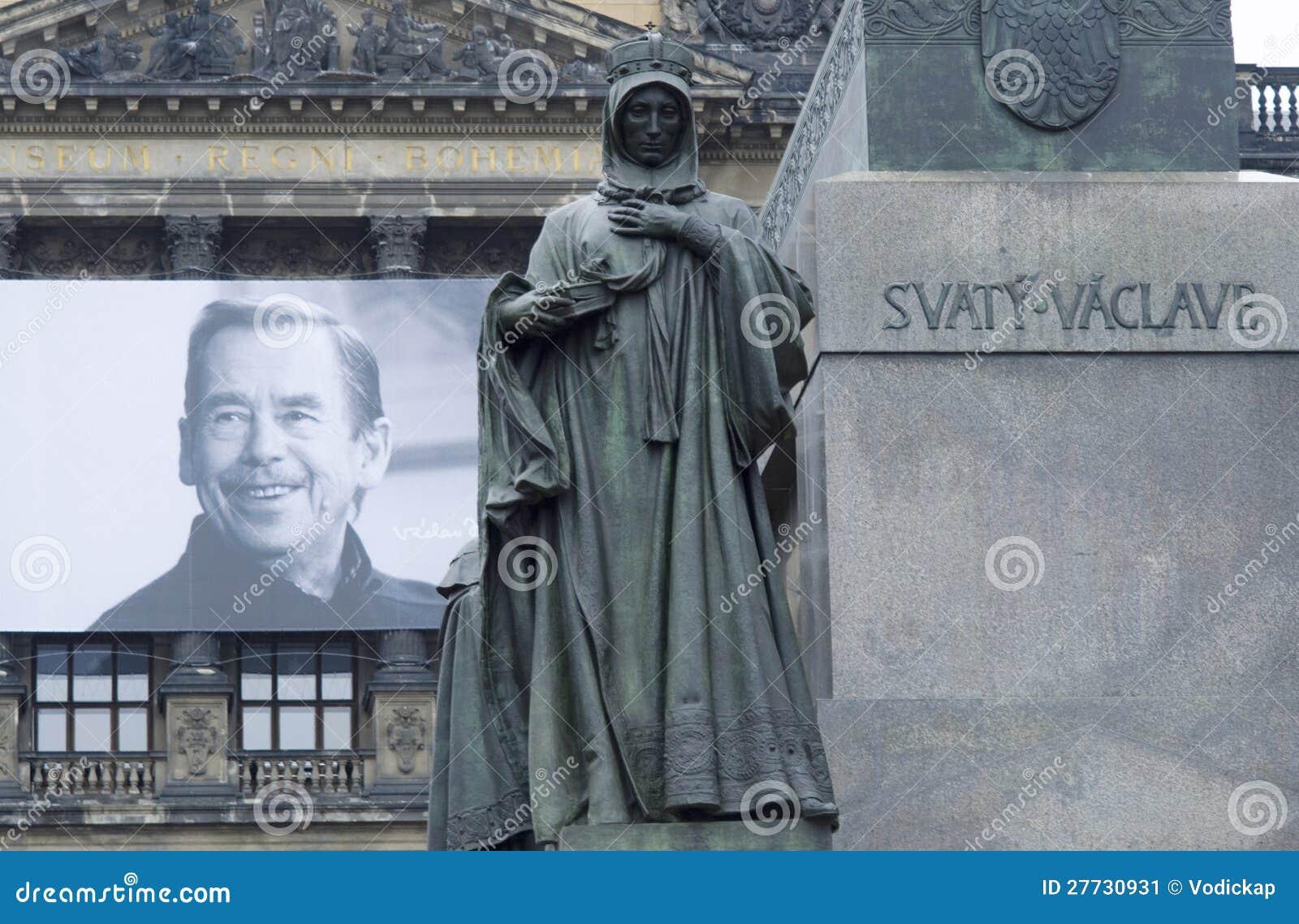 Vaclav Havel und Str. Ludmila