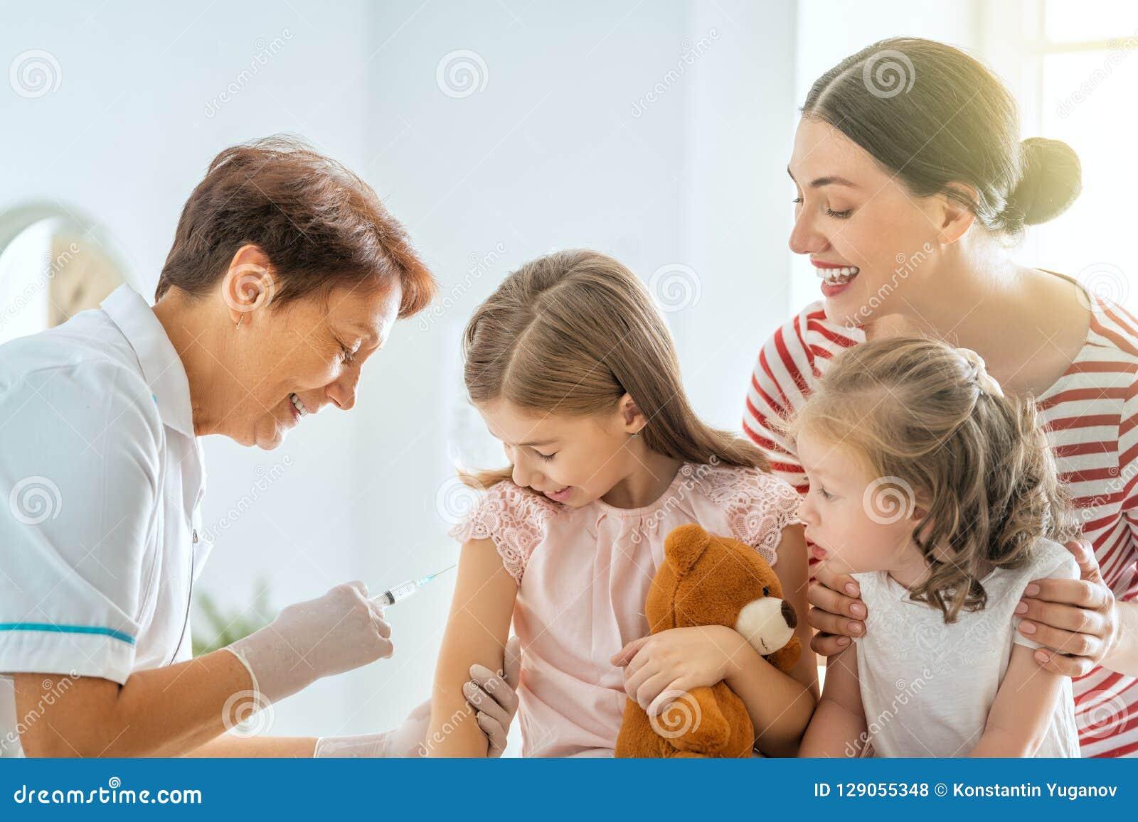 Vacunación al niño