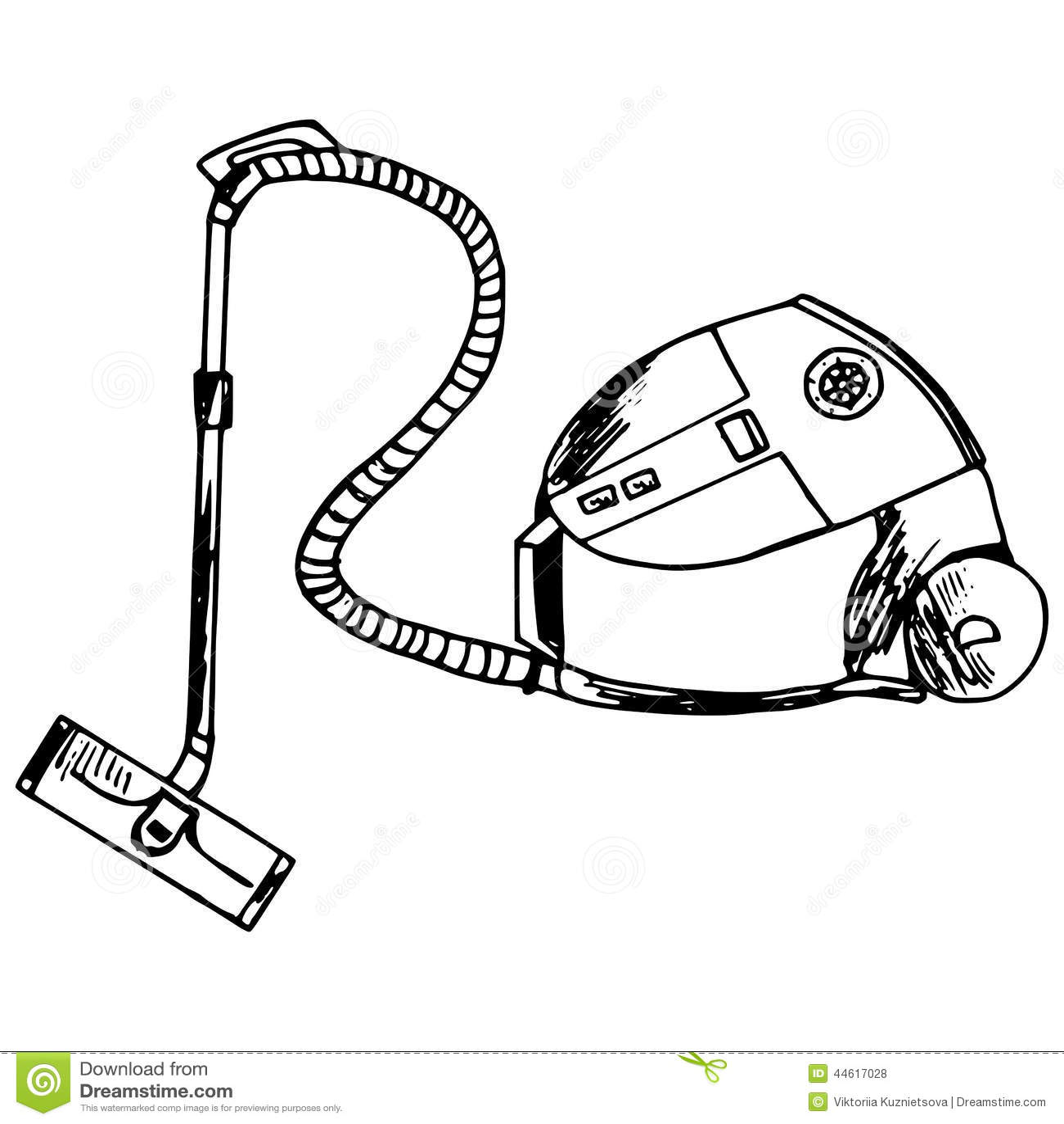 Vacuum Cleaner Stock Vector Image 44617028