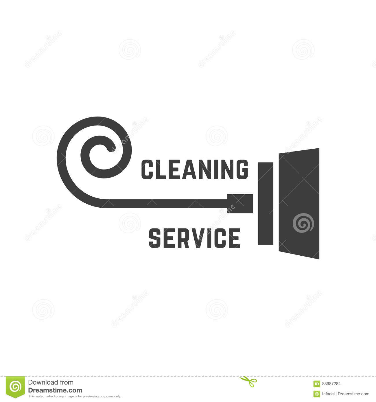 Vacuum cleaner like cleaning service logo stock vector vacuum cleaner like cleaning service logo biocorpaavc Image collections