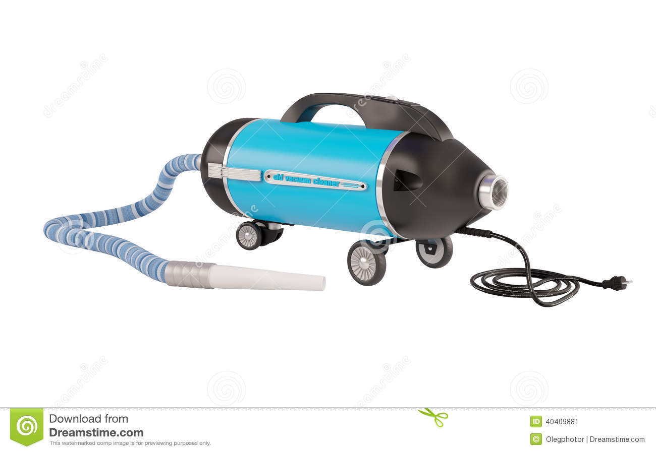 Vacuum Cleaner Of Old Type Stock Photo Image 40409881