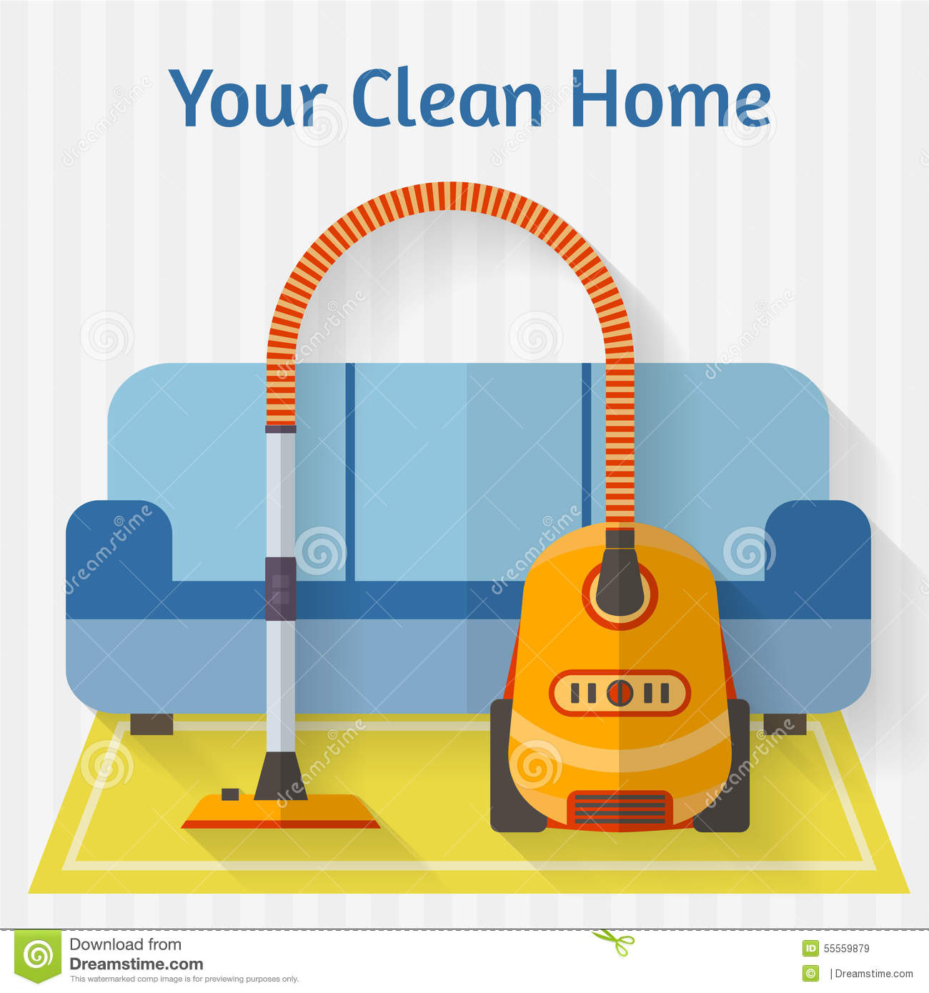 Vacuum cleaner icon flat style vector illustration cartoondealer com 83130364
