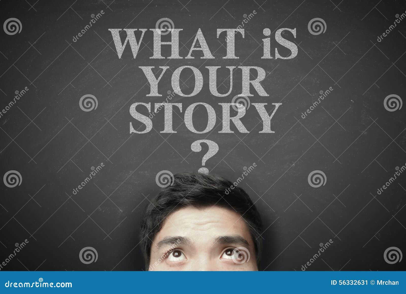 Vad är din berättelse