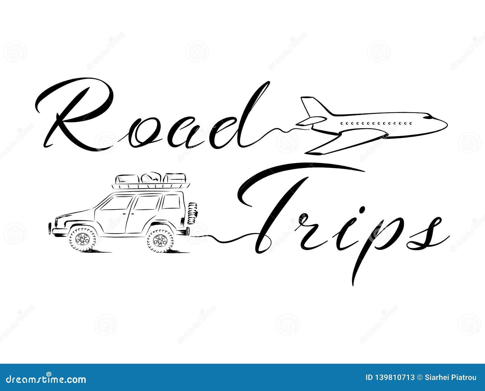 Vada ad un viaggio stradale