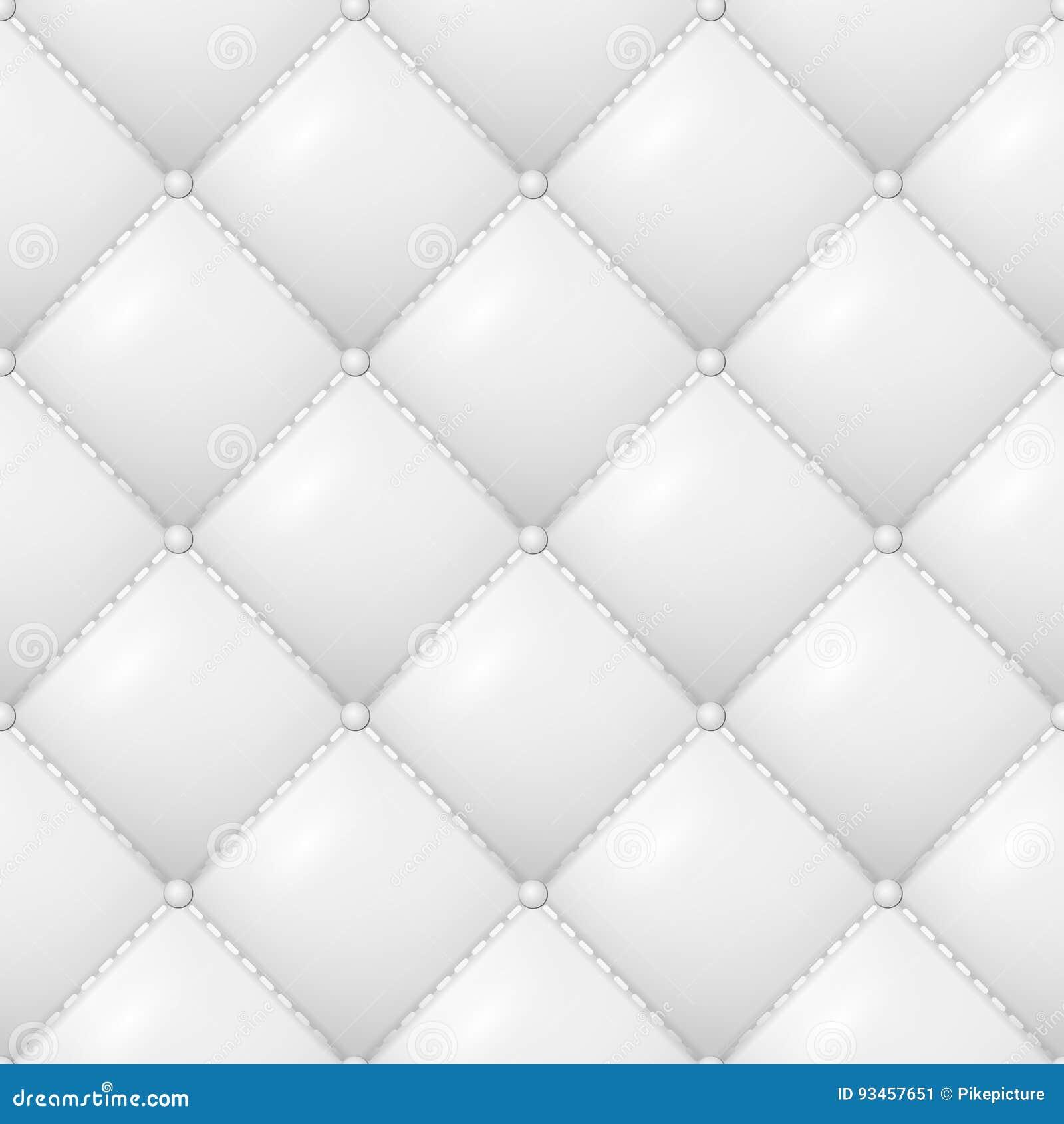 Vadderad modellvektor Abstrakt mjuk texturerad bakgrund med fyrkanter i vit closen colors slappt övre siktsvatten för liljan