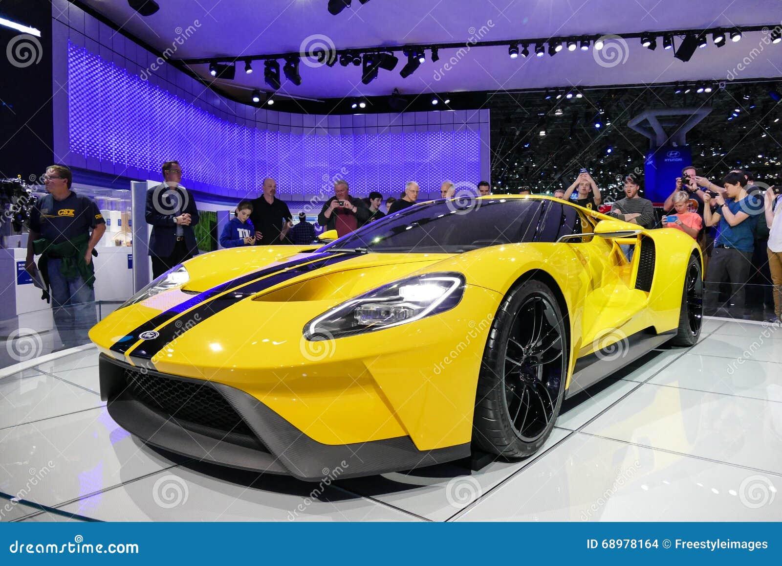 Vadee a GT, coche de deportes en el salón del automóvil del International de Nueva York