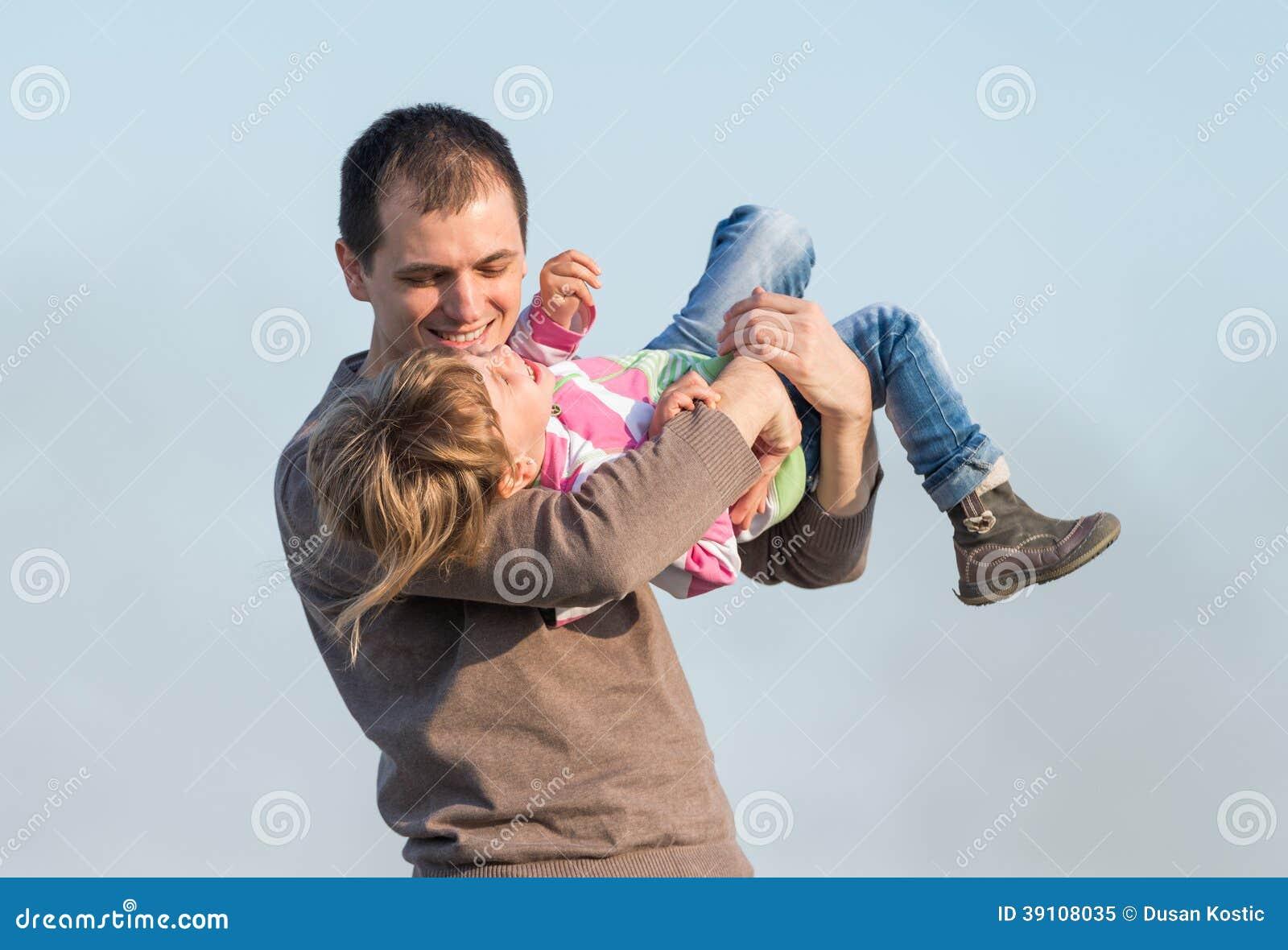 Vader en zijn dochter