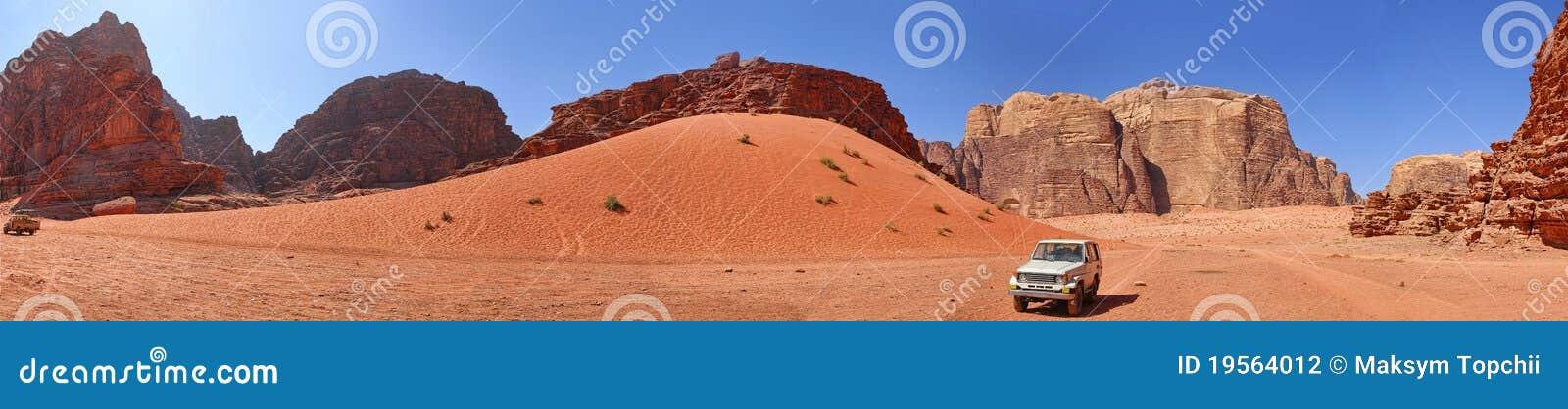 Vadi för jordan panoramaRAM