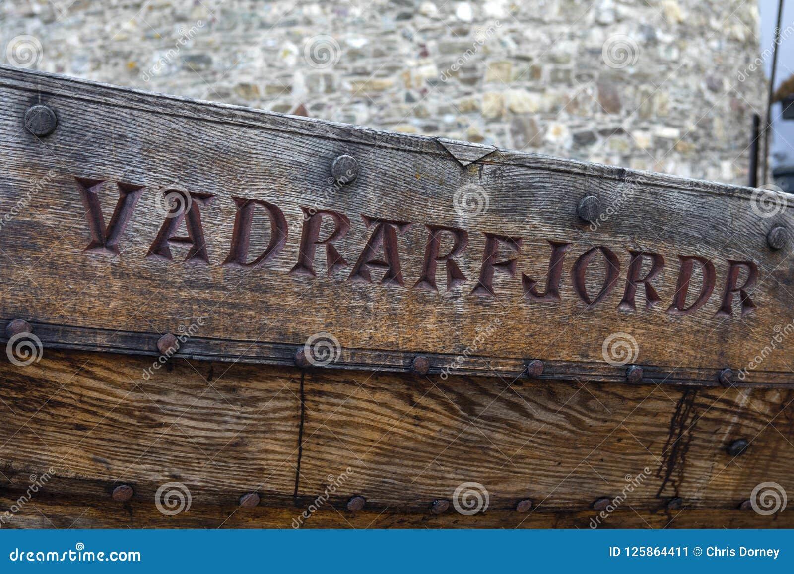 Vadrarfjordr Viking Longboat en Waterford
