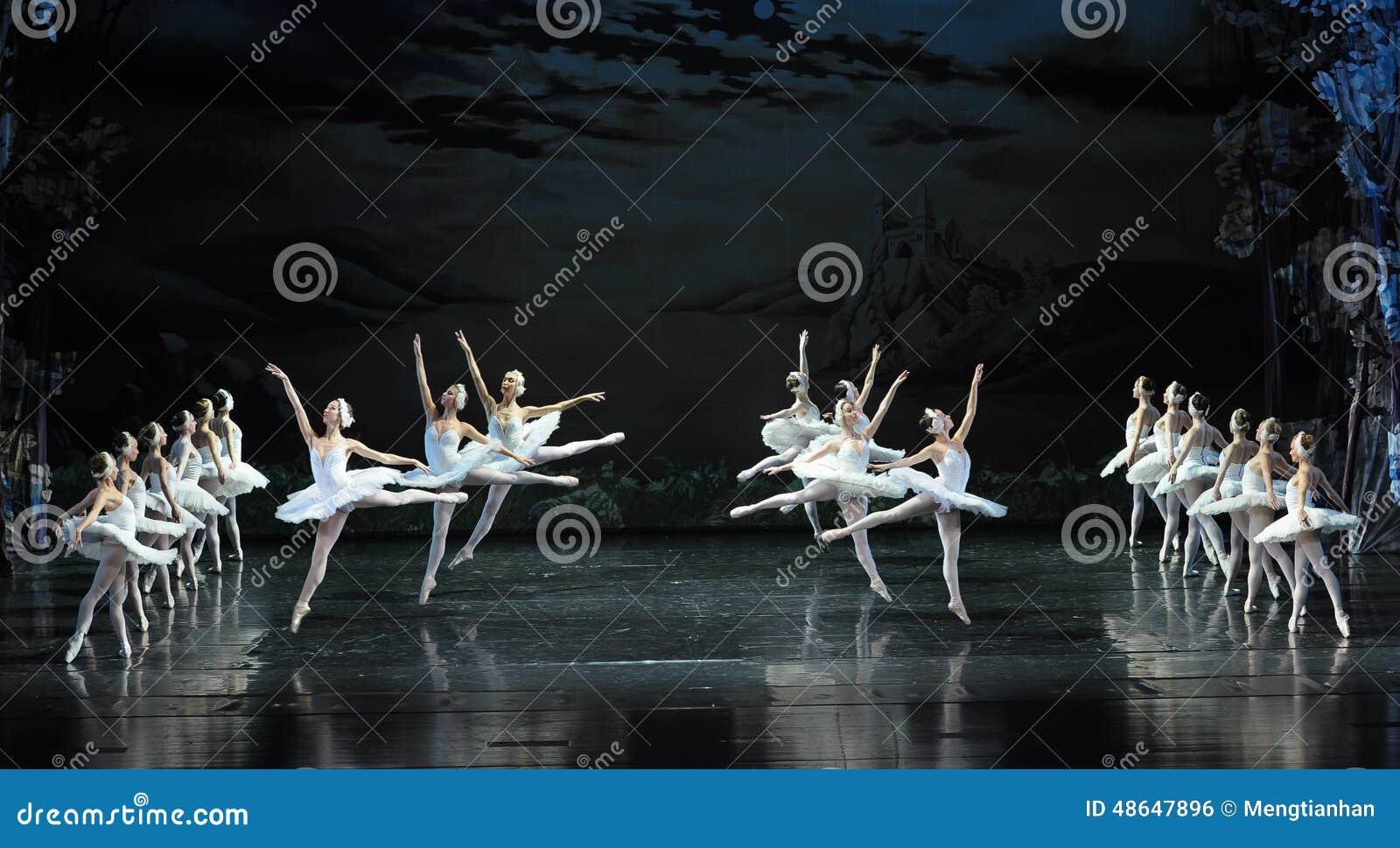 Vagar-bailado O Lago das Cisnes