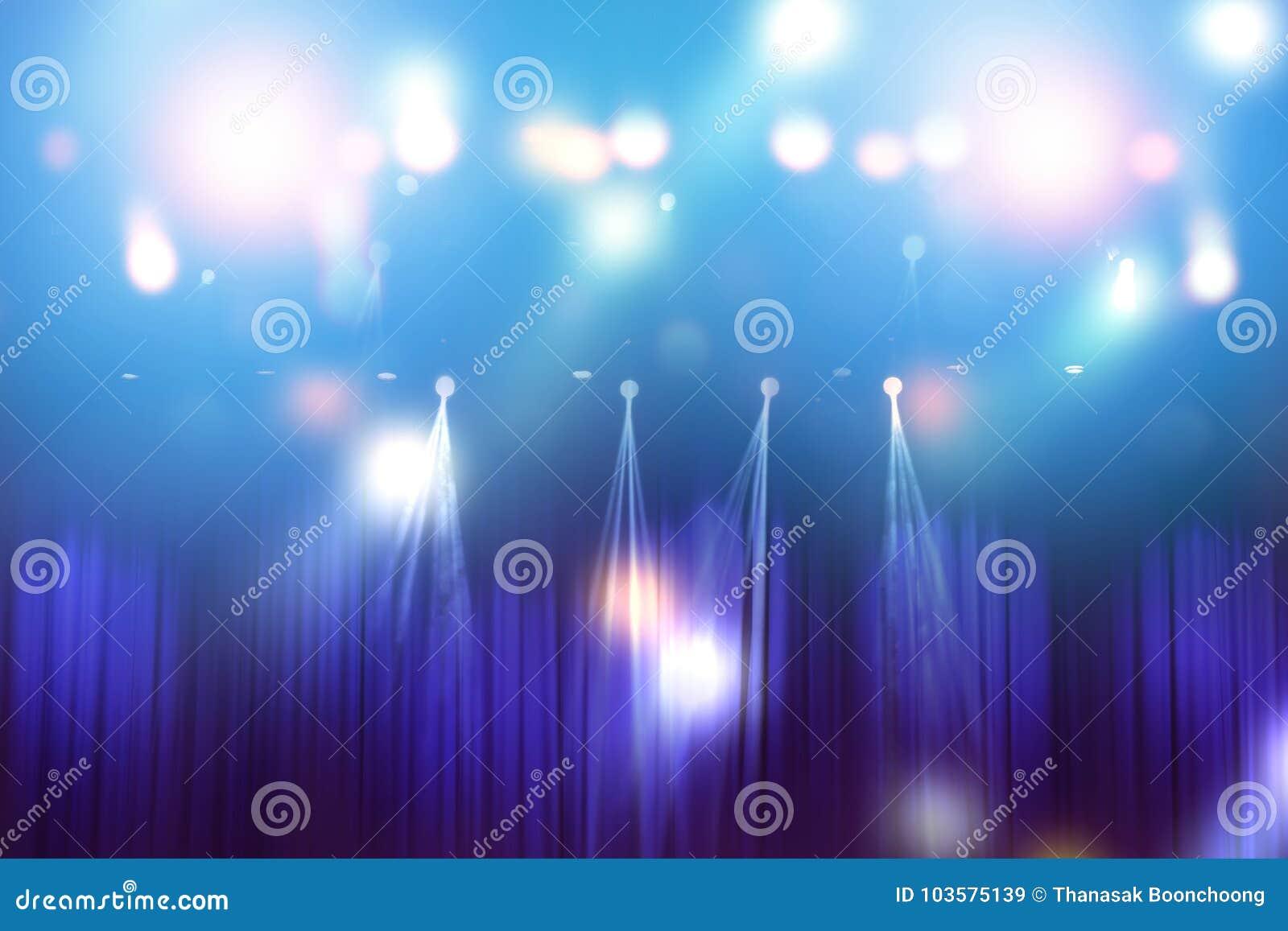 Vage lichten op stadium, samenvatting van overlegverlichting