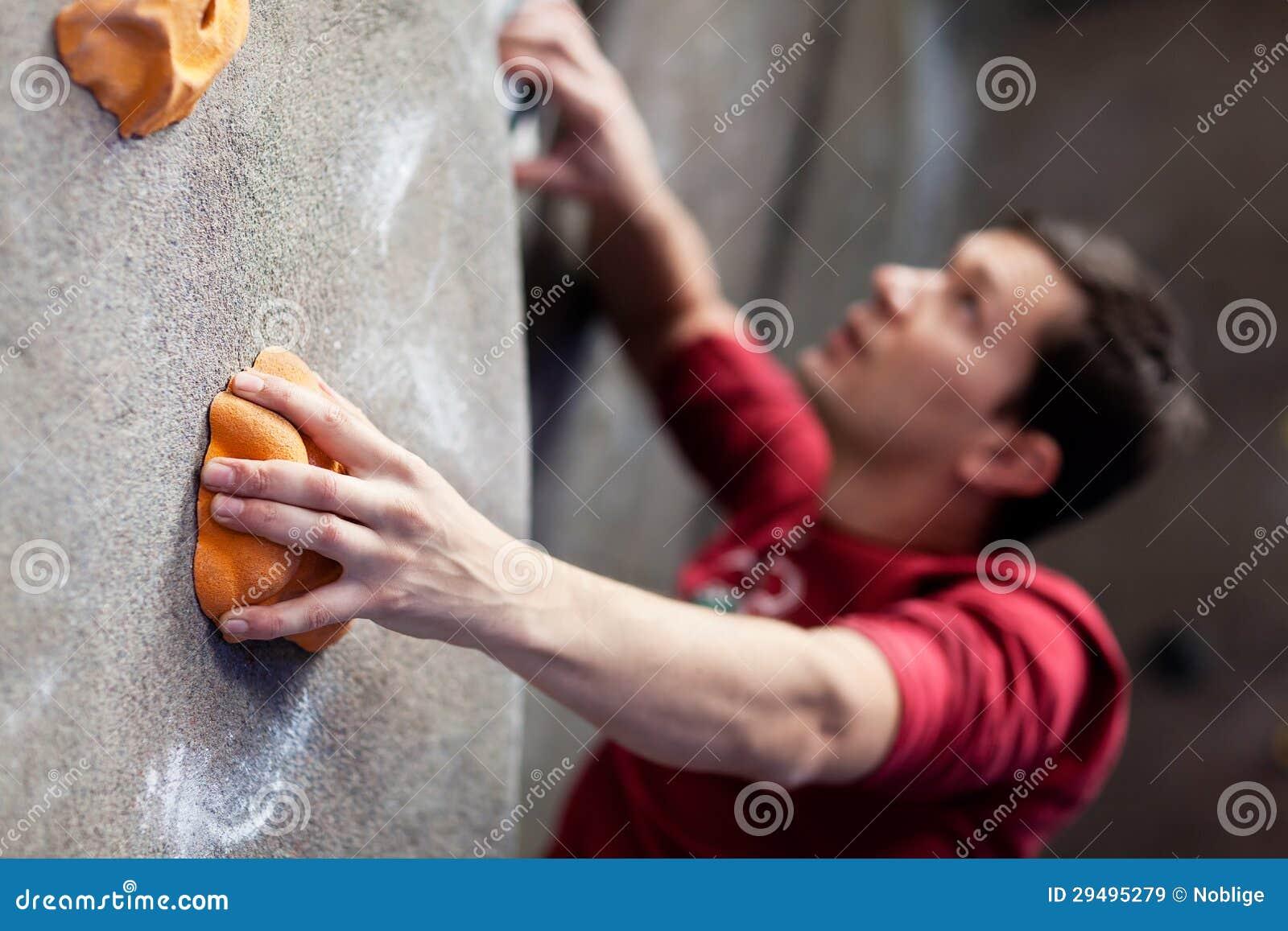 Vagga att klättra inomhus