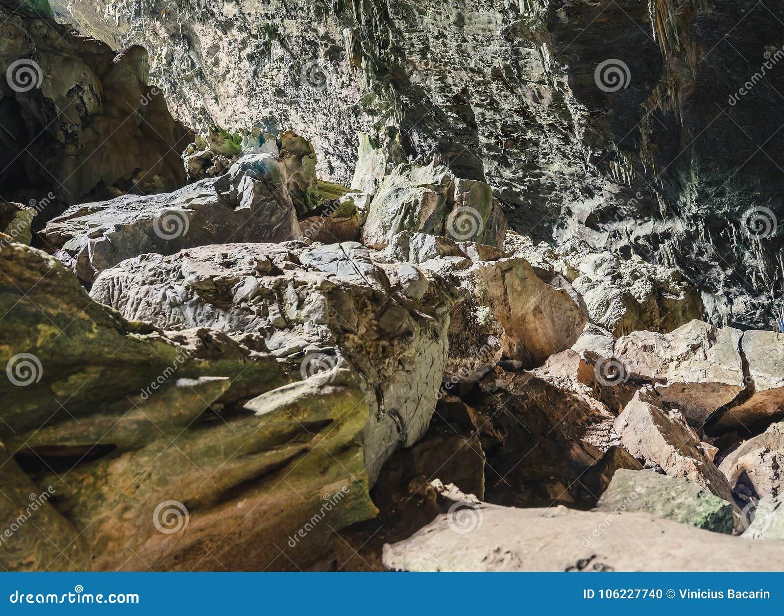 Vagga bildande och stalaktit