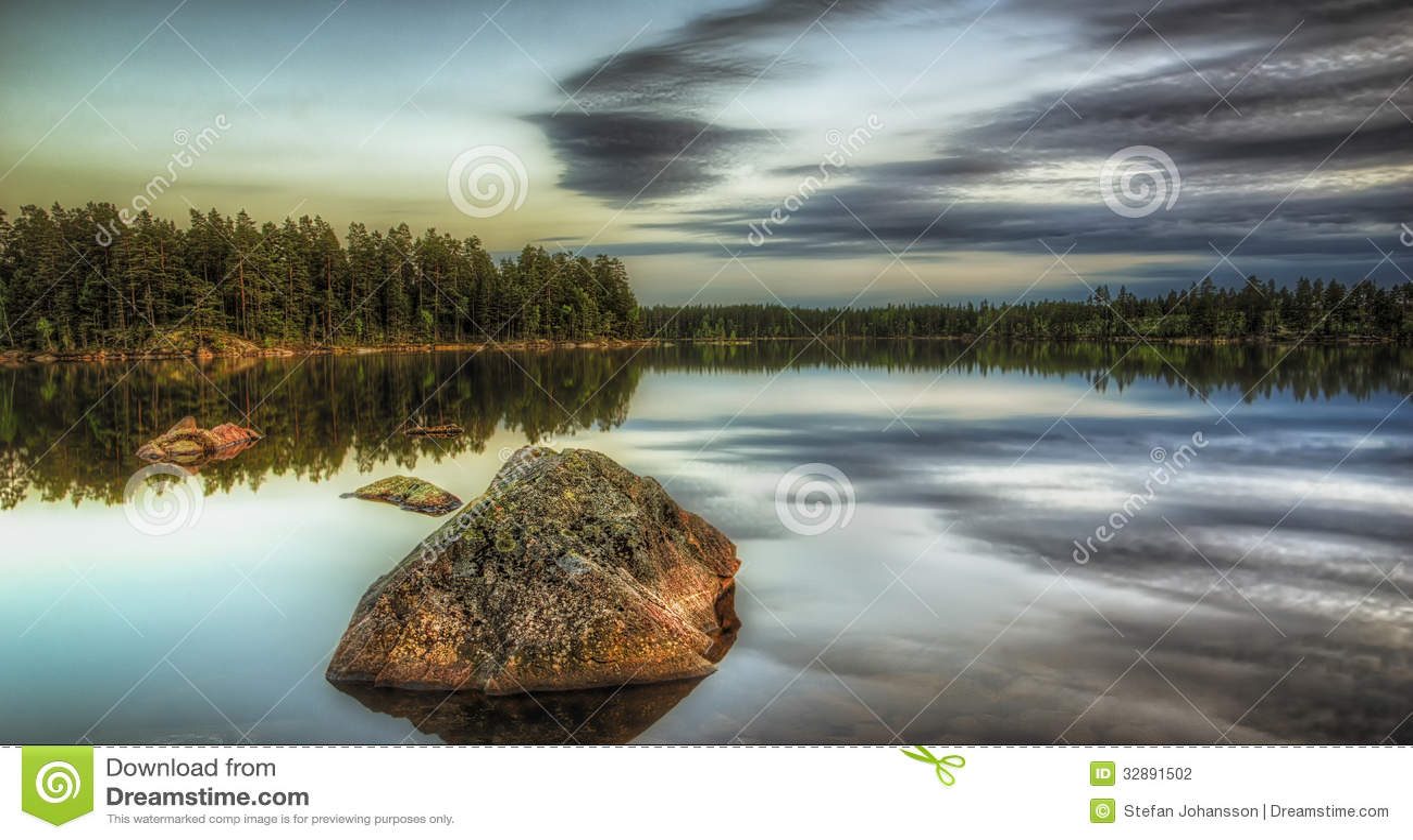 Vaggar i sjön