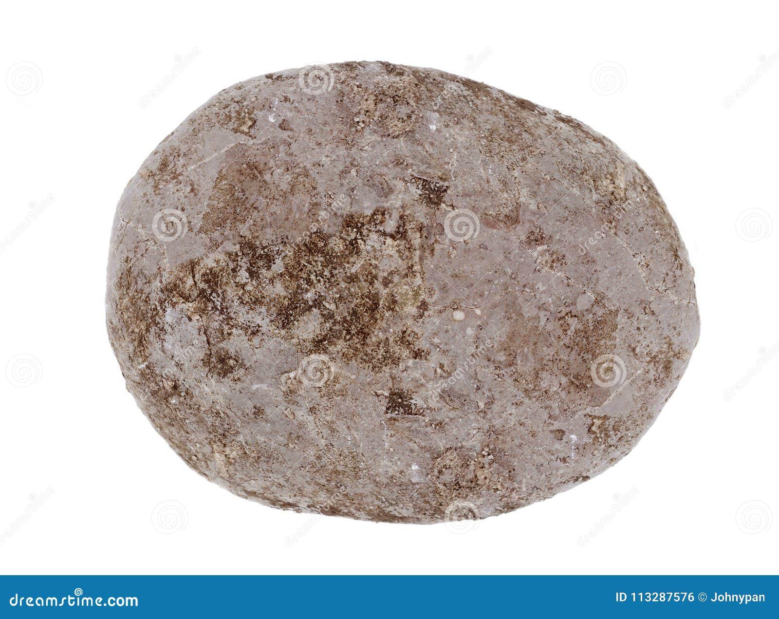 Vaggar stenen för rund form för sfären eller isolerat