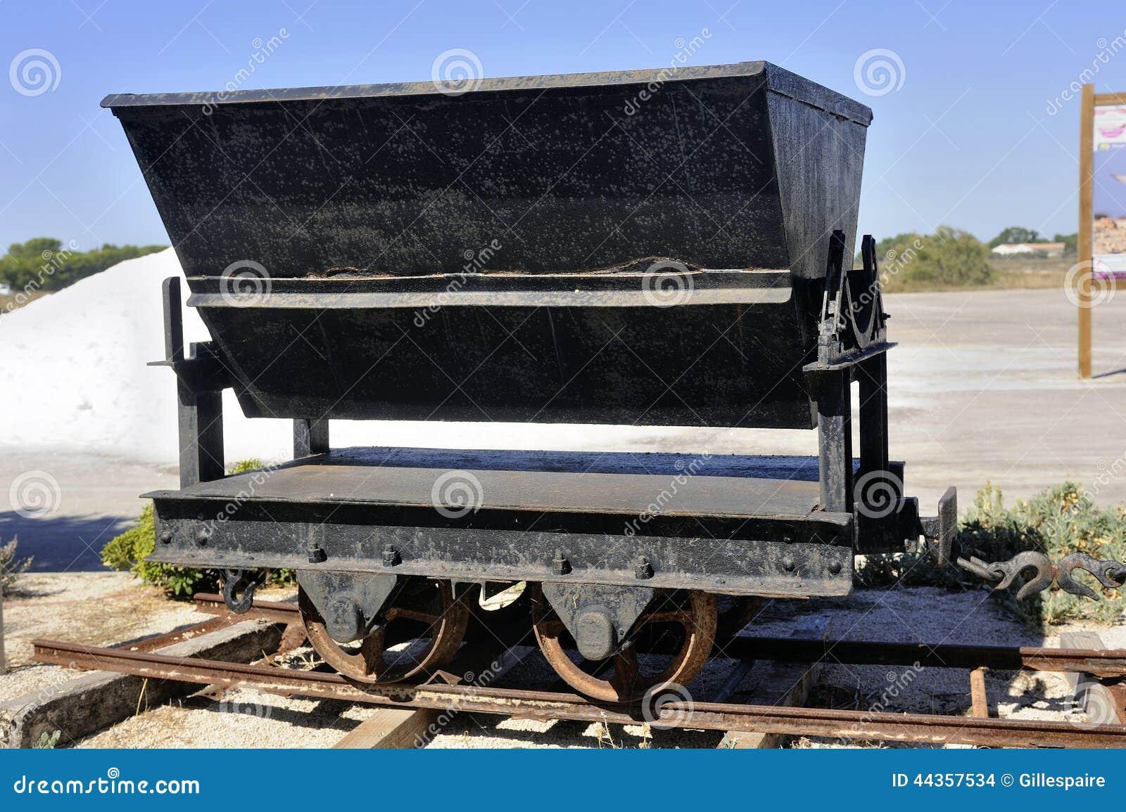 Vagone Aigues-Mortes salino una volta usato