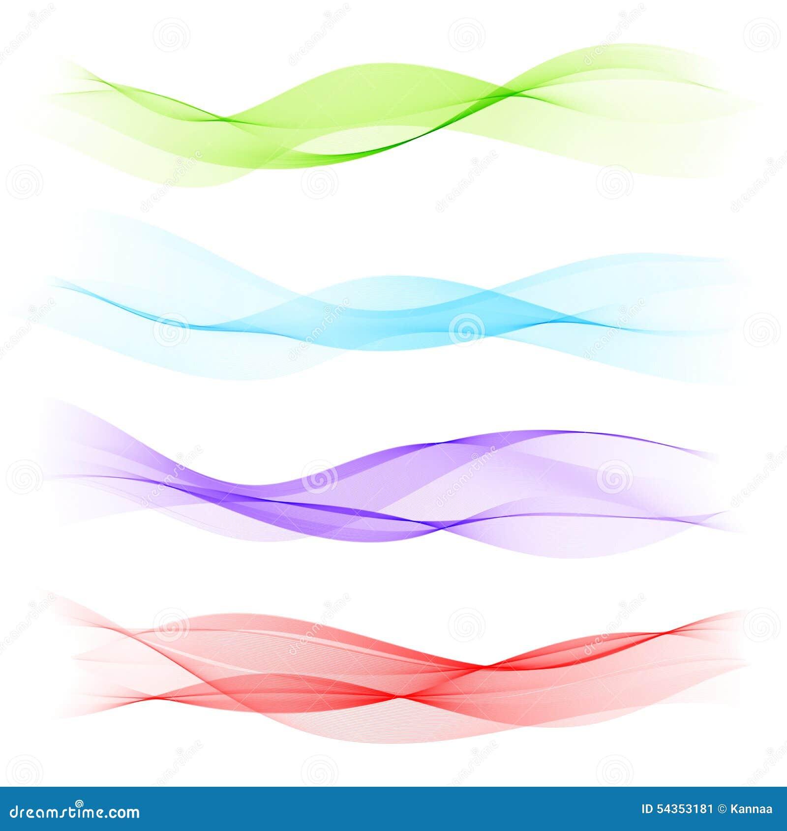 vague bleue abstraite sur le fond blanc illustration de vecteur image 54353181. Black Bedroom Furniture Sets. Home Design Ideas