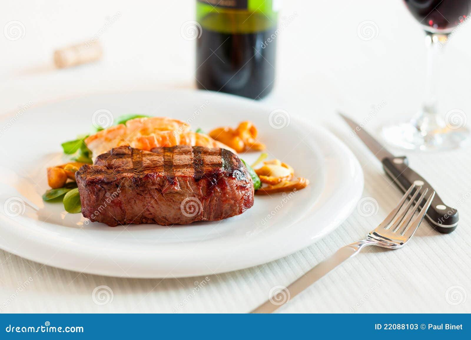 Vague déferlante et repas de gazon
