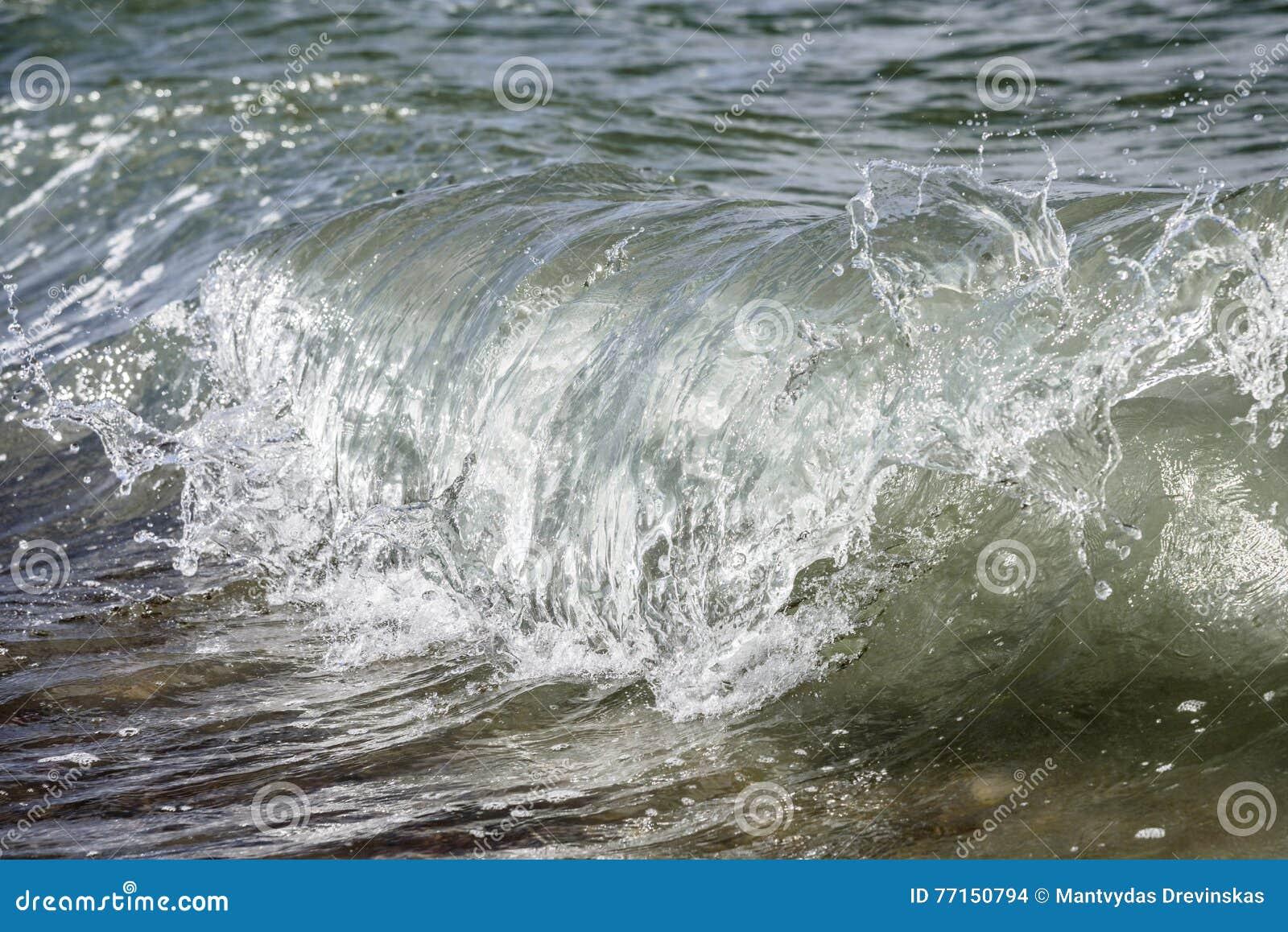 Vague en mer