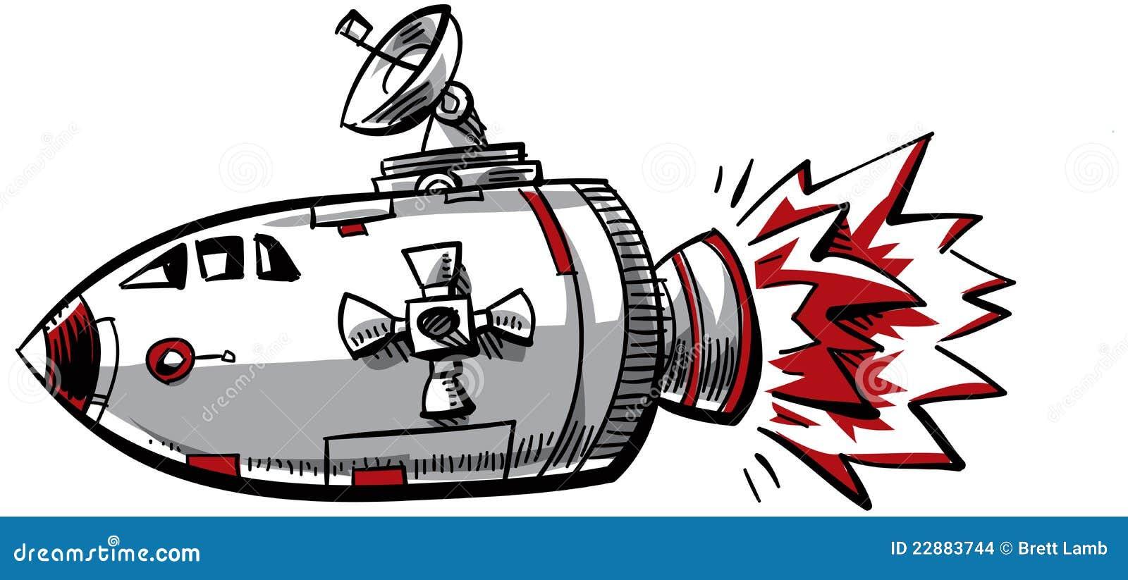 Vaisseau spatial de dessin anim images stock image - Dessin vaisseau spatial ...