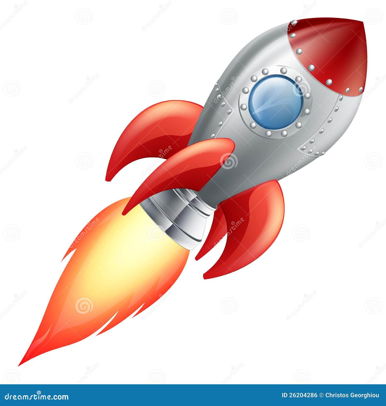 Vaisseau spatial de fus e de dessin anim image libre de droits image 26204286 - Dessin vaisseau spatial ...