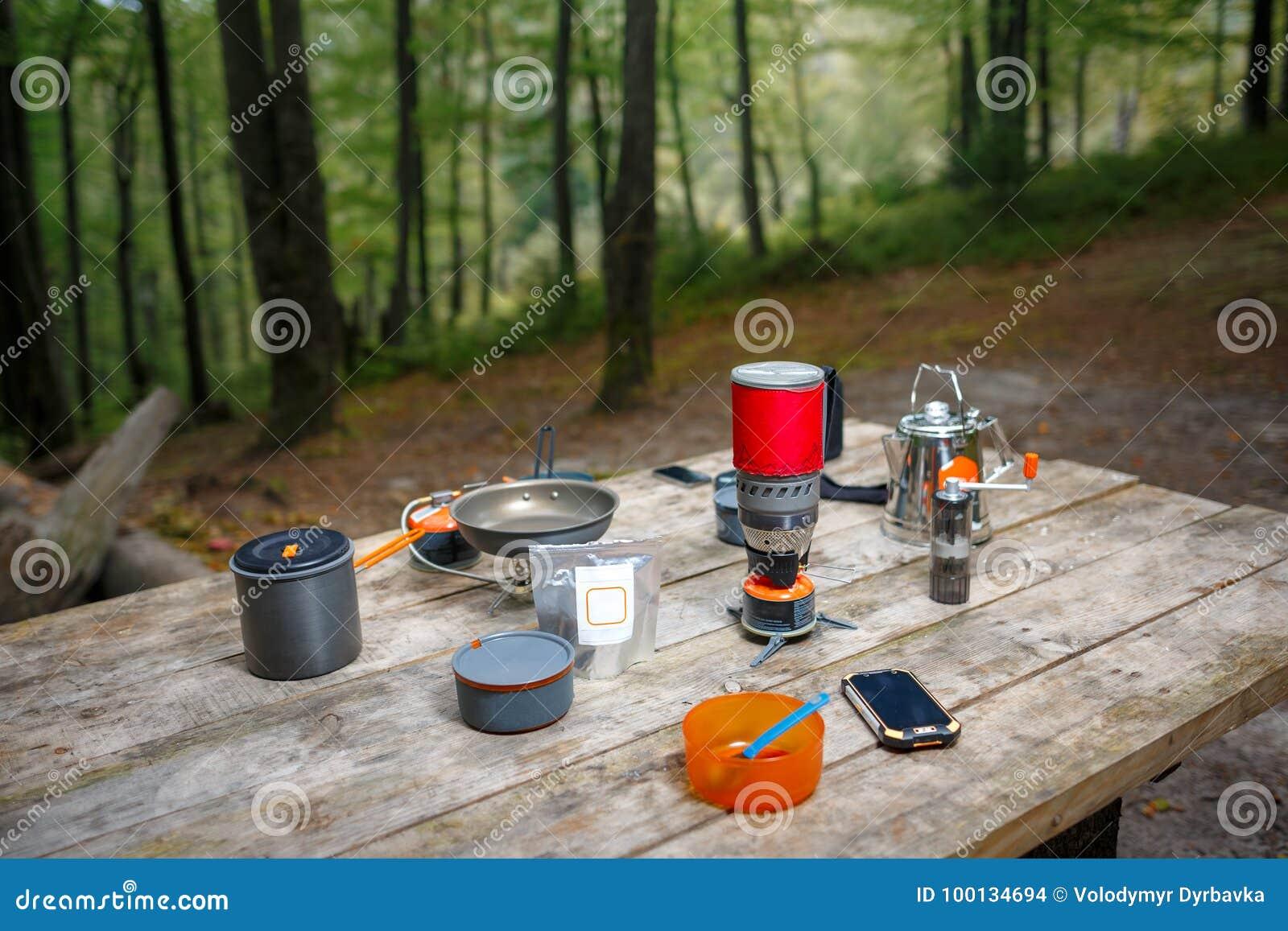 Vaisselle pour camper