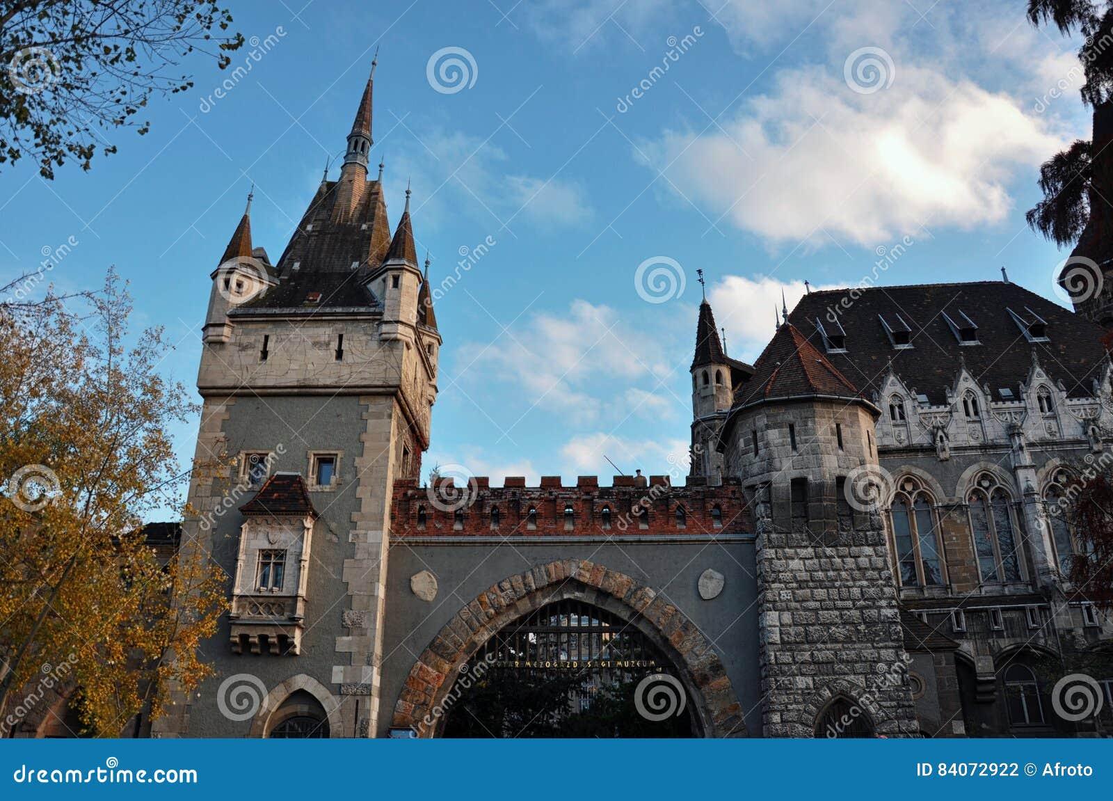 Vajdahunyad城堡