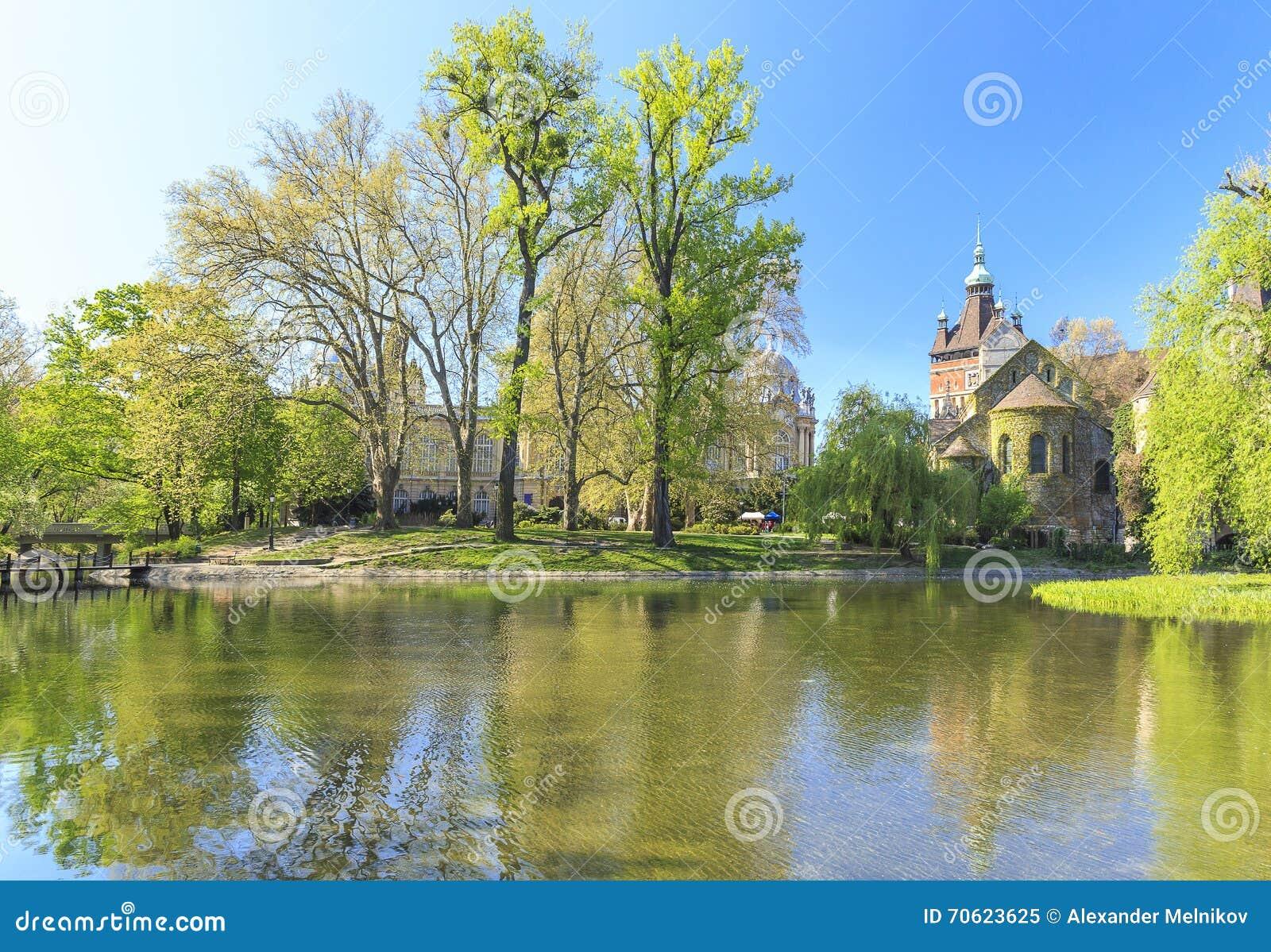 Vajdahunyad замока budapest