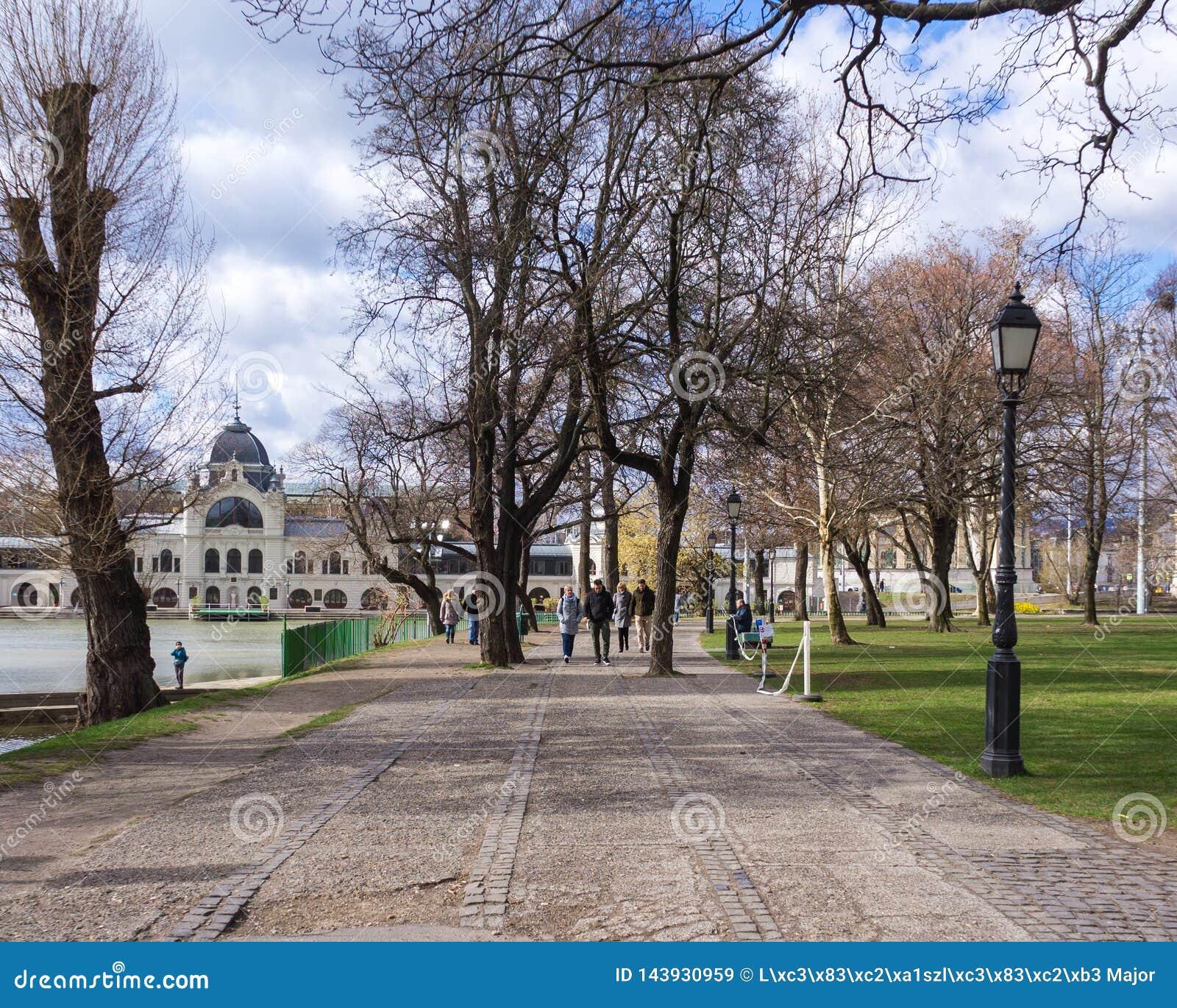Vajdahunyad Kasztel kasztelem jest w Miasta Parku Budapest, W?gry